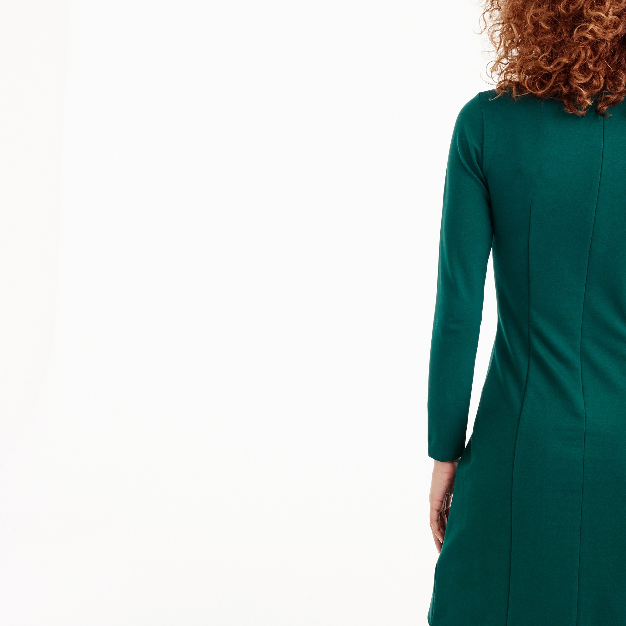Image 3 for Petite Long-sleeve sheath dress
