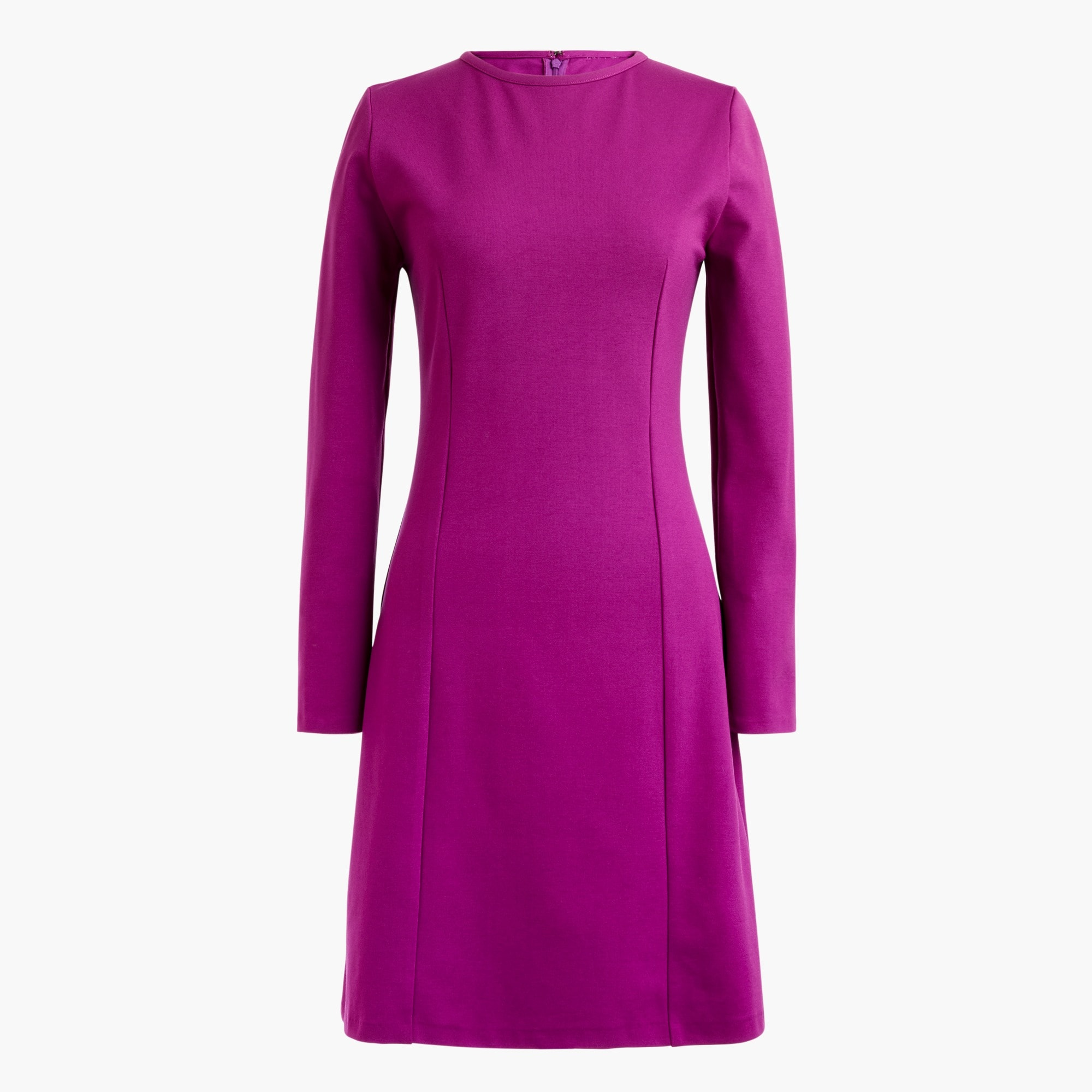 women's petite long-sleeve sheath dress - women's dresses