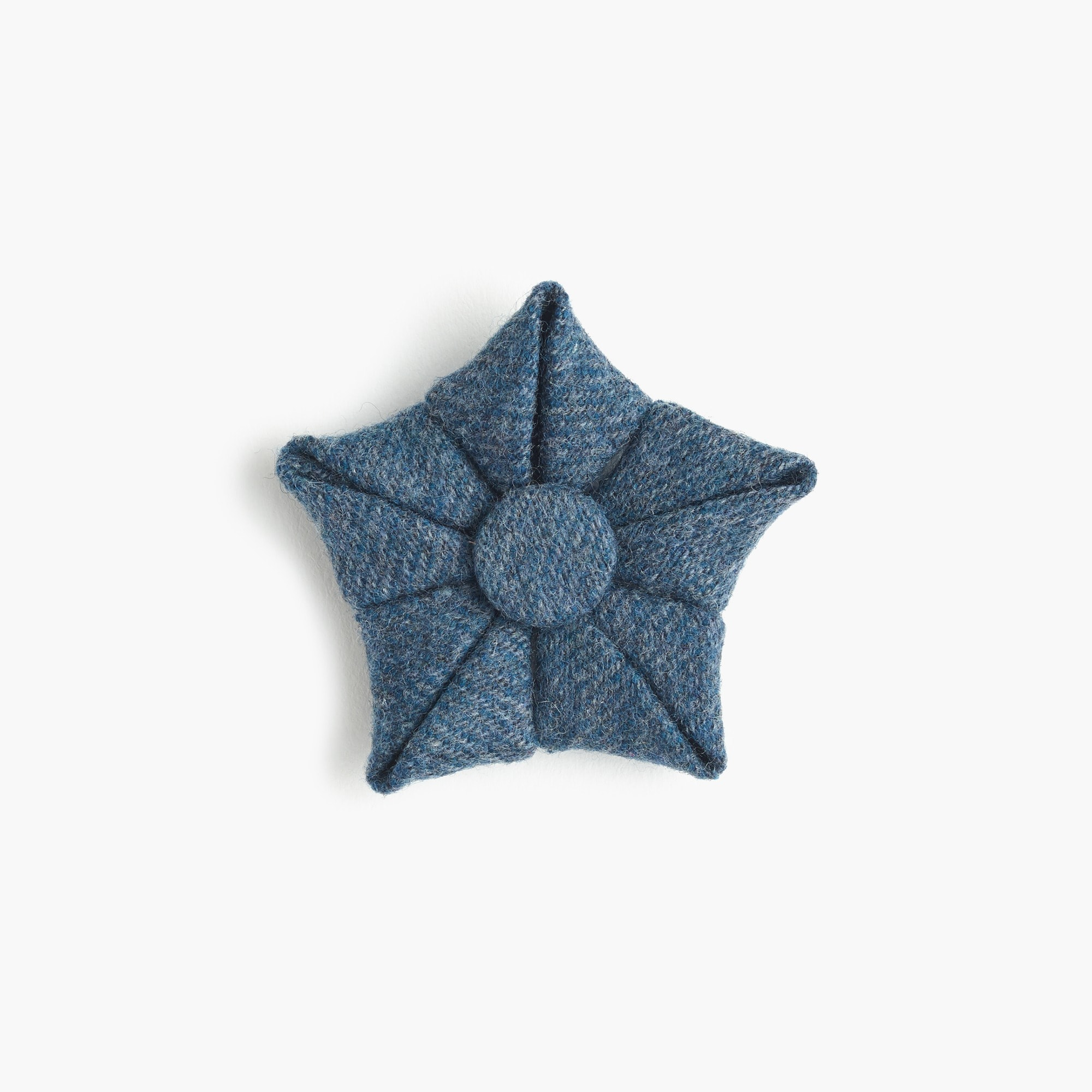 men's paul feig™ j.crew for blue wool flower lapel pin - men's accessories