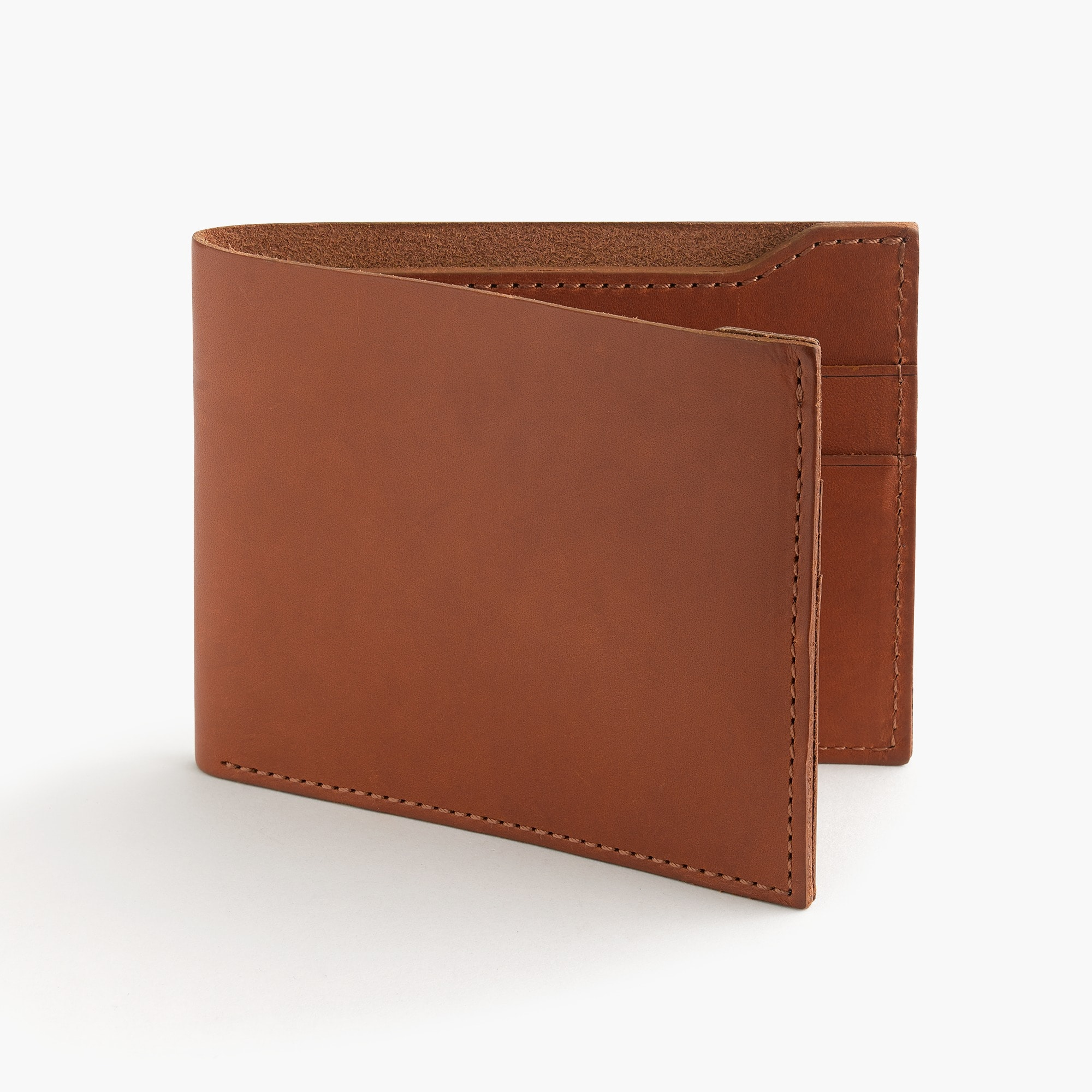 mens Billfold wallet in Italian leather