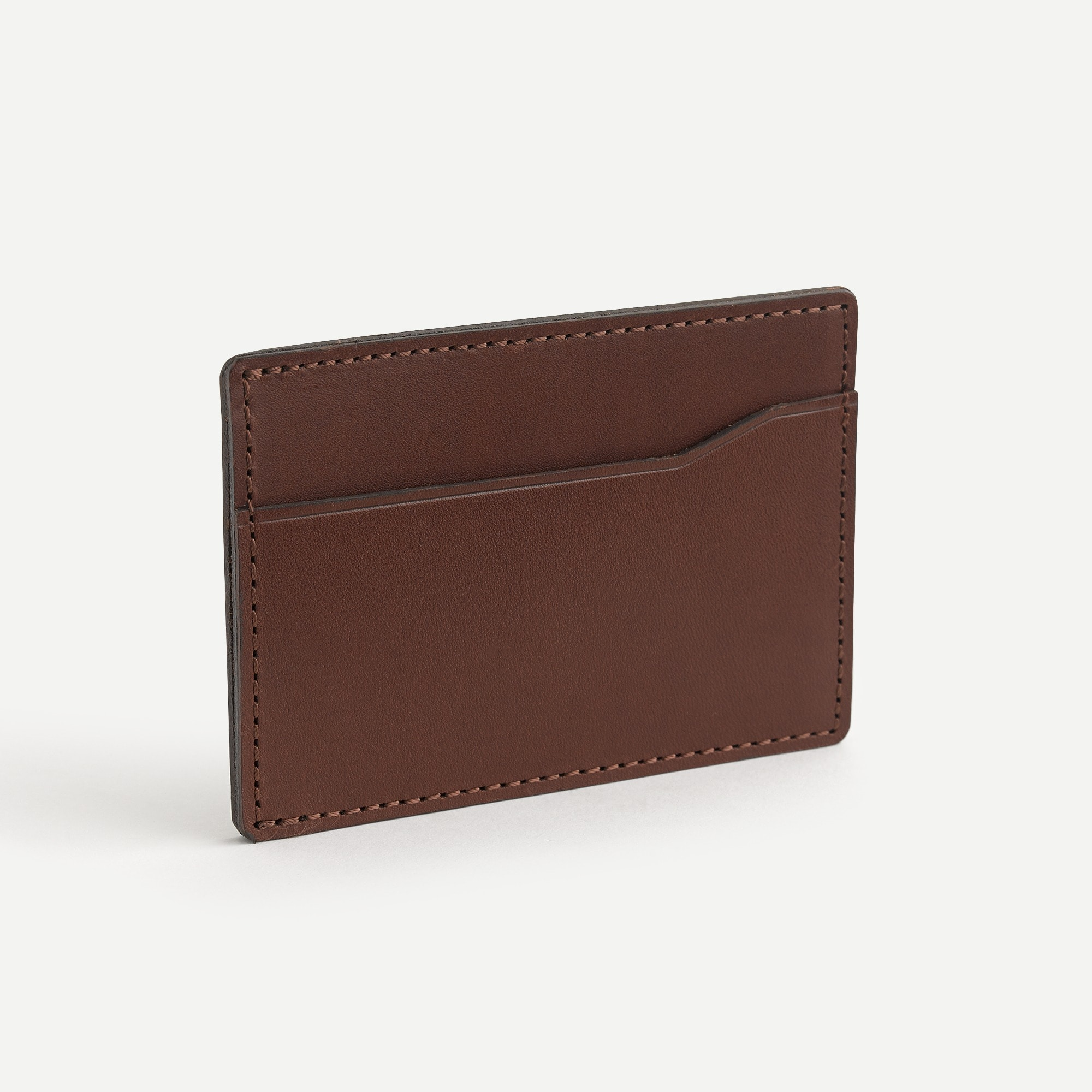 Card case in Italian leather
