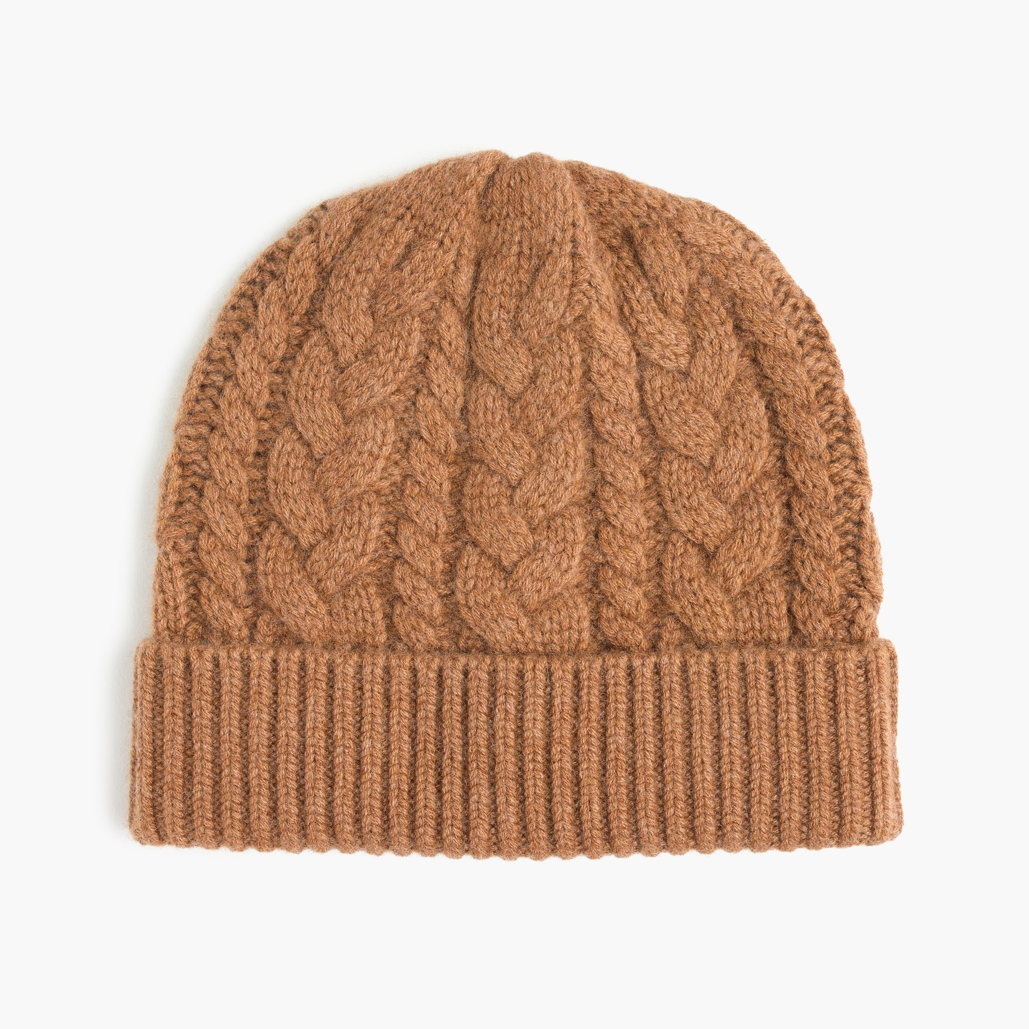 Image 1 for Cashmere cable beanie