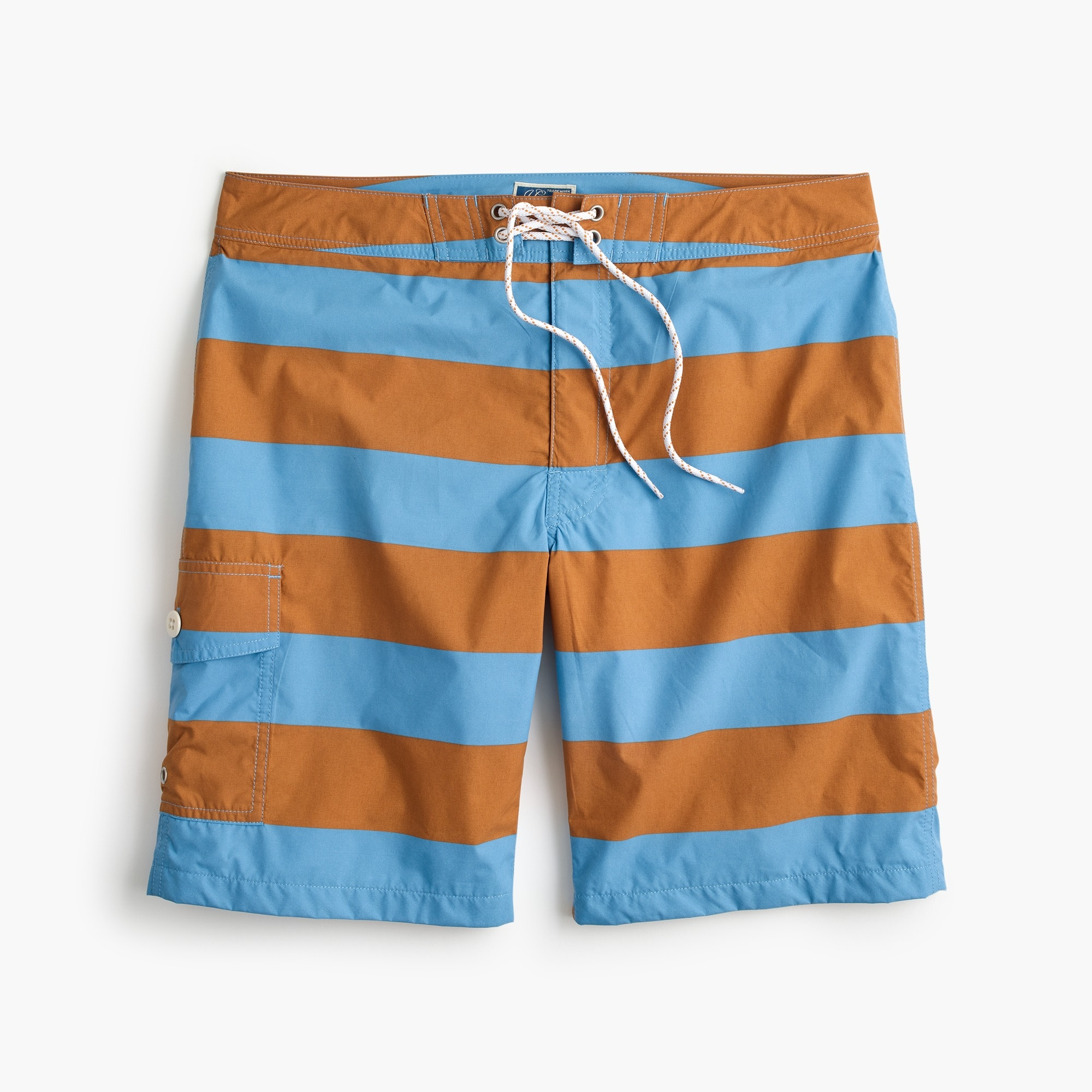 men's 9 board short in bold stripe - men's swimwear
