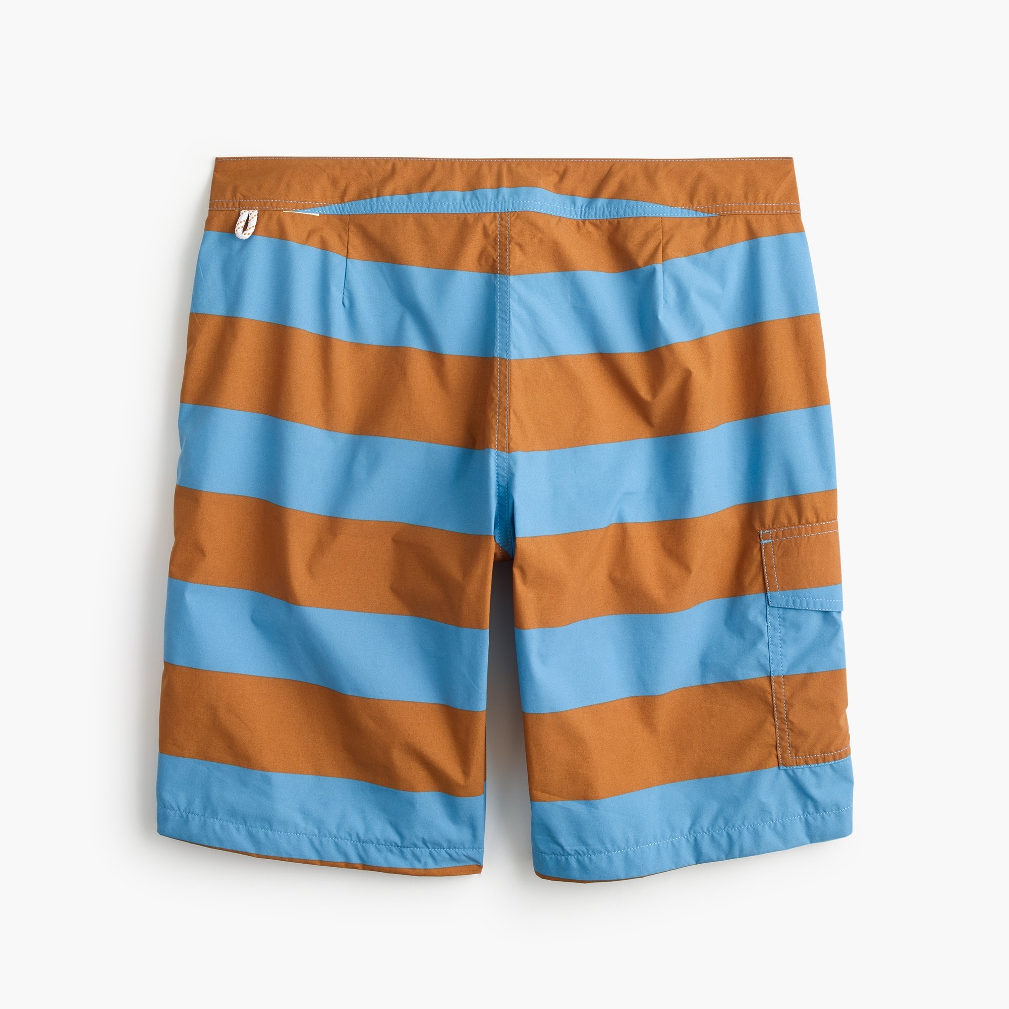 "9"" board short in bold stripe"