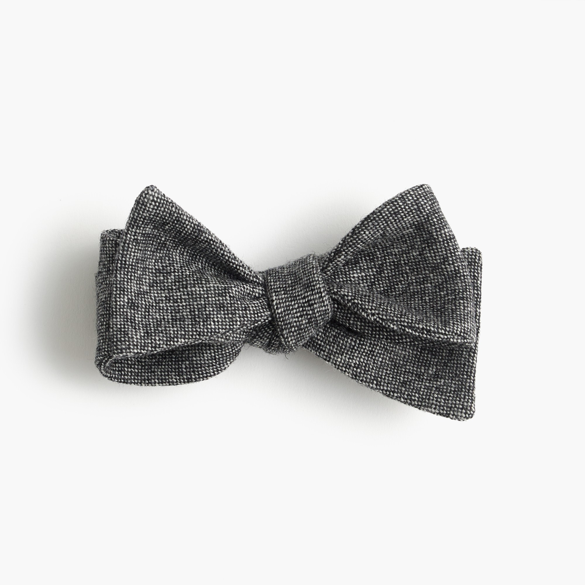 wool bow tie in grey : men bow ties