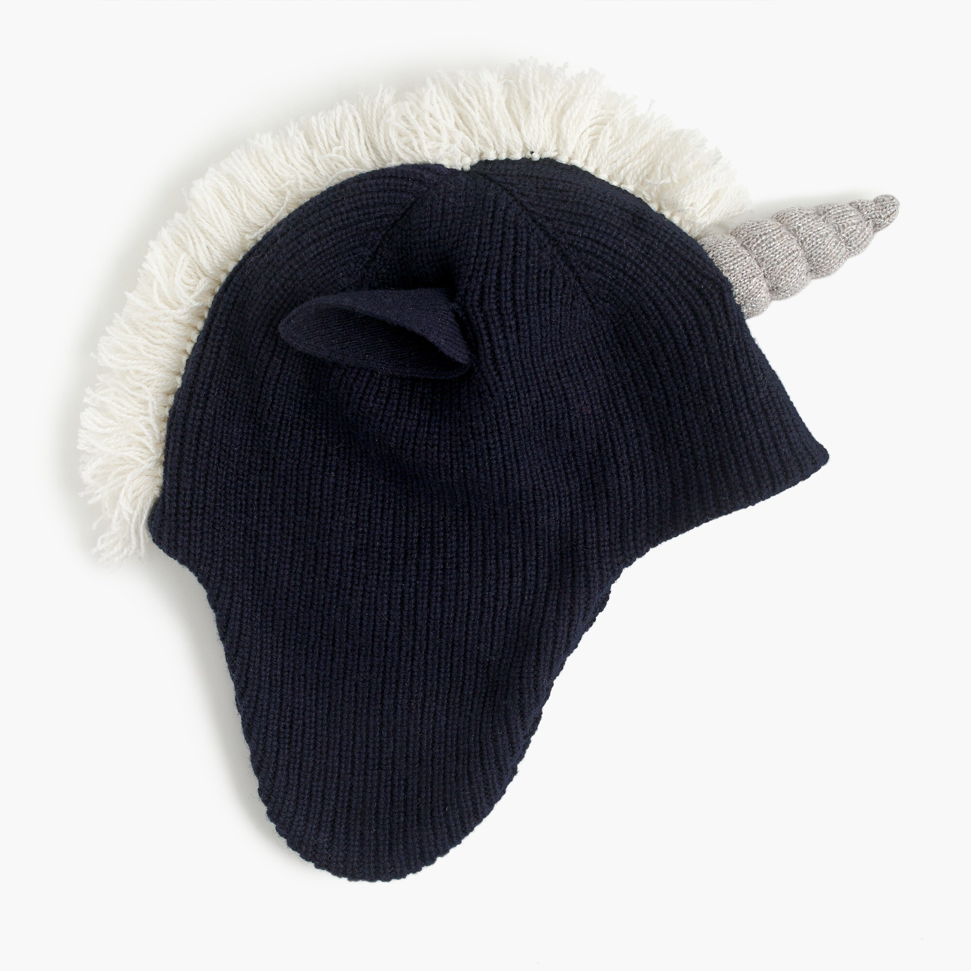 Kids' unicorn trapper hat
