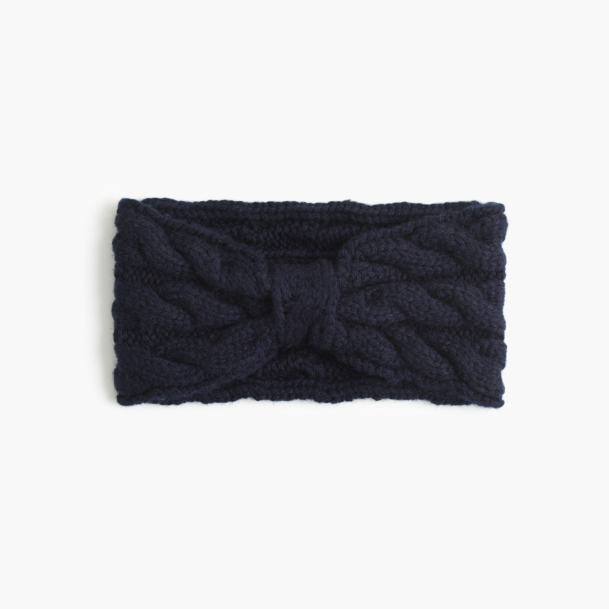 Girls' cable-knit earwarmer