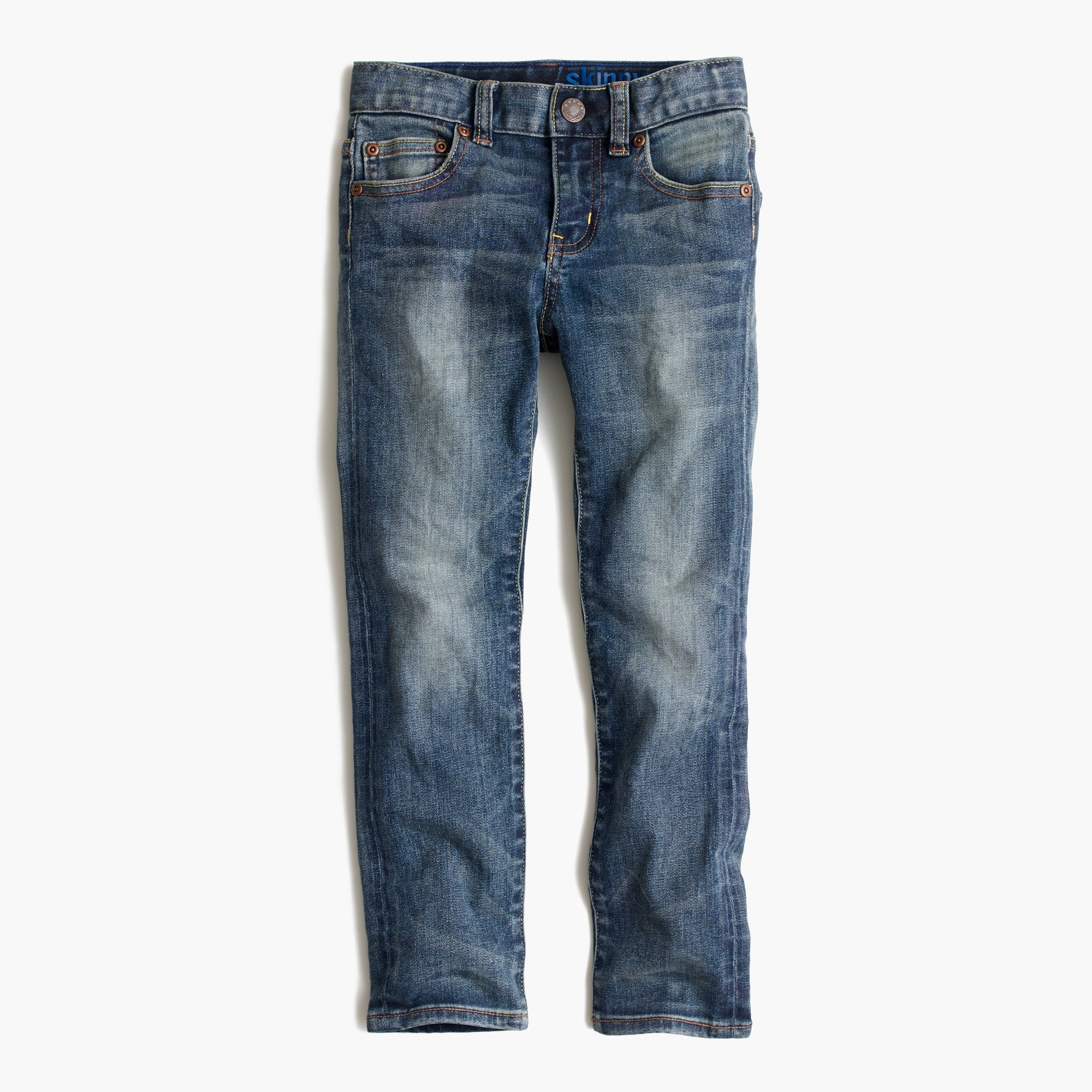 Image 1 for Boys' vintage wash jean in stretch skinny fit