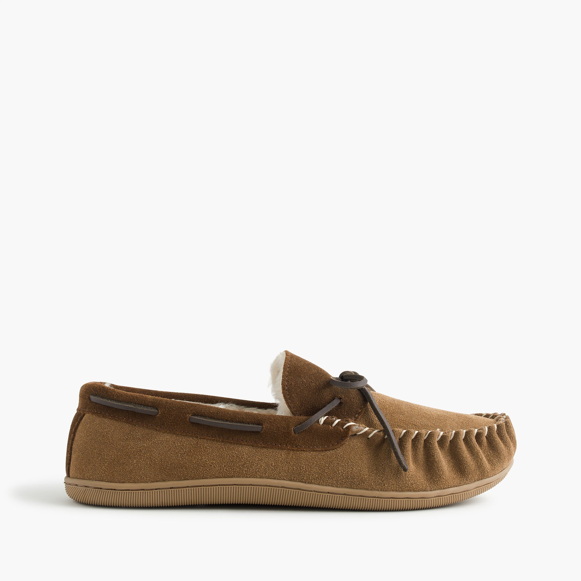 Image 1 for Classic suede moccasin slippers