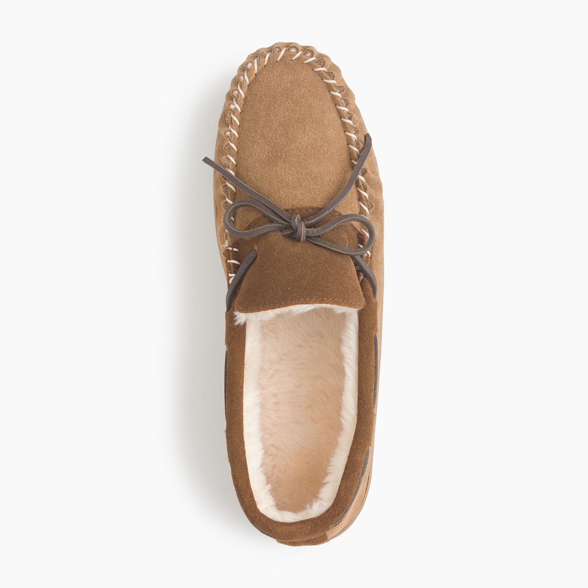 Image 2 for Classic suede moccasin slippers