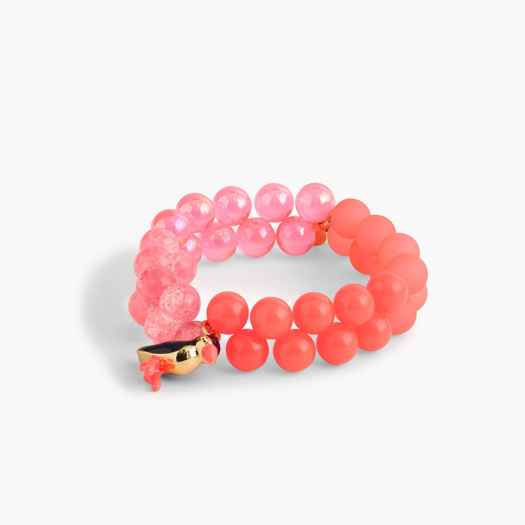 girls' gumball charm bracelet : girl jewelry
