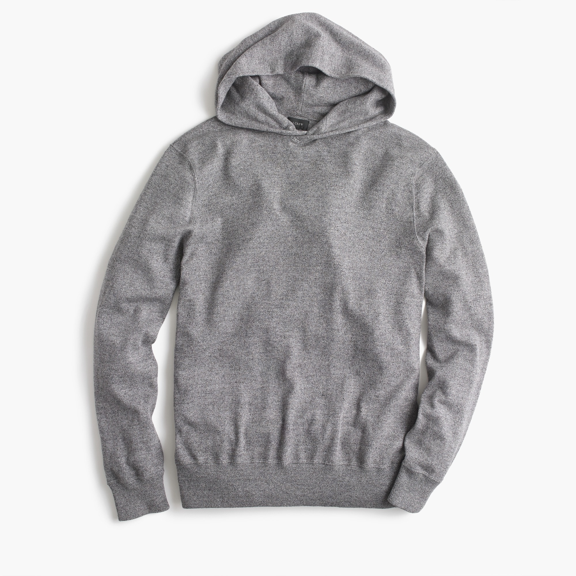 Image 3 for Cotton pullover hoodie in grey