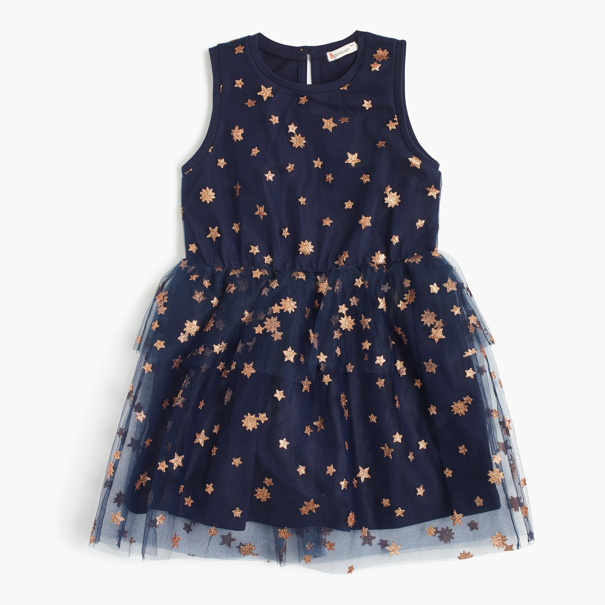 girls' tulle dress in stars and flowers : girl party & special occasion