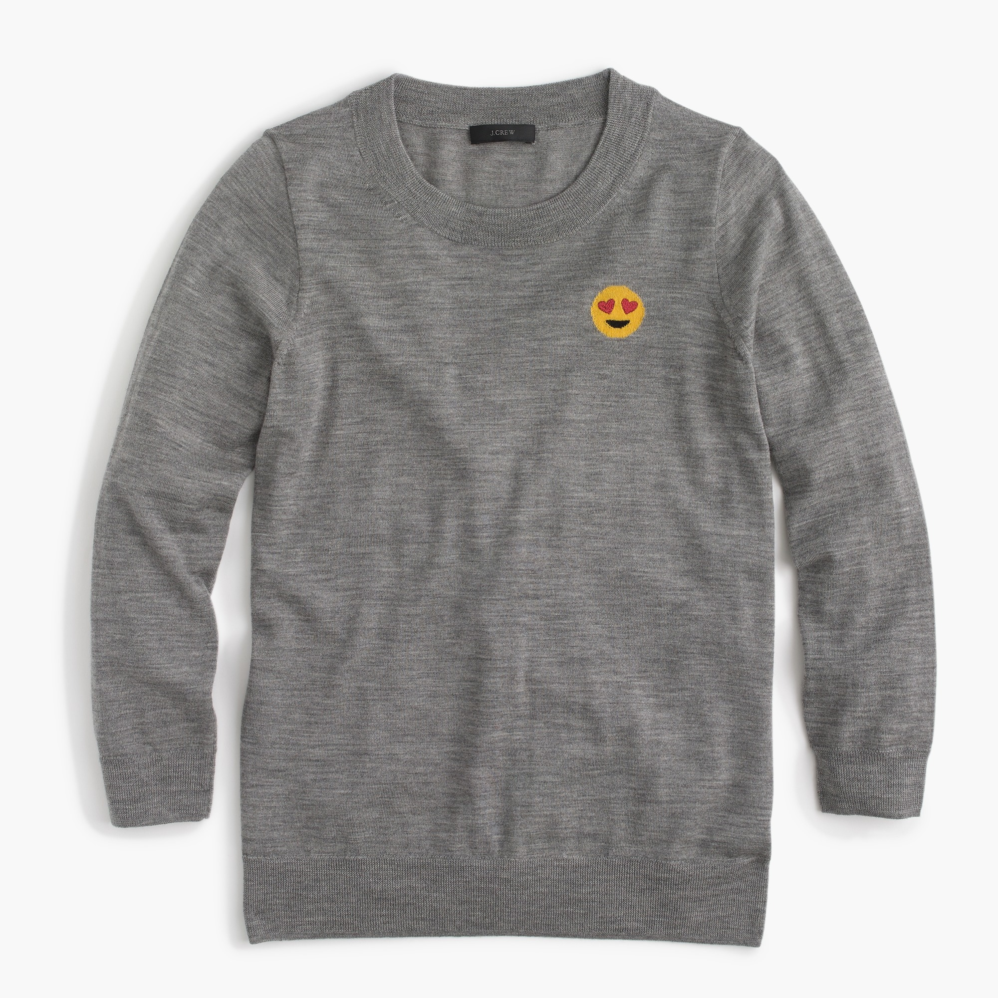 Tippi sweater with emoji patch