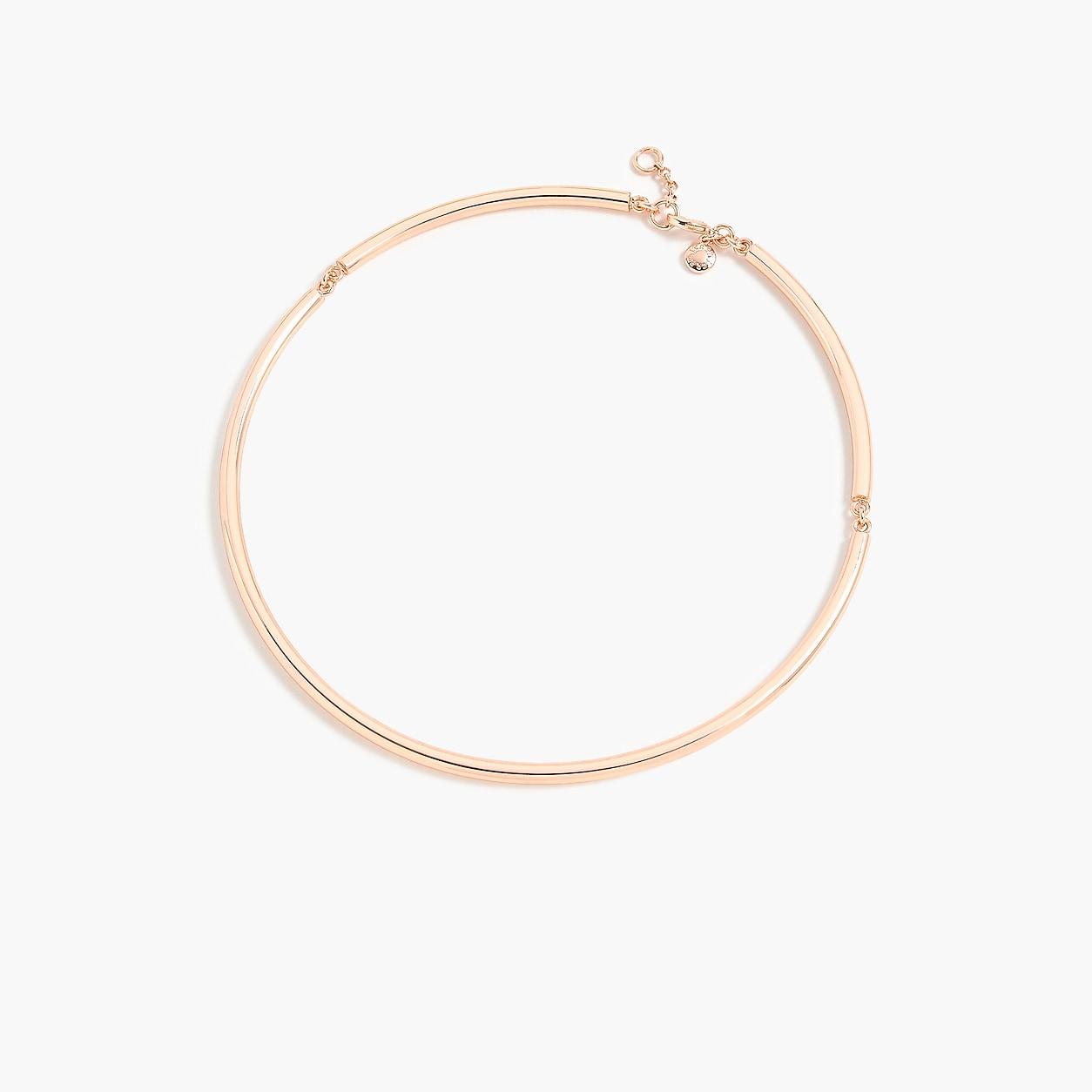 Simple collar necklace | J.Crew US