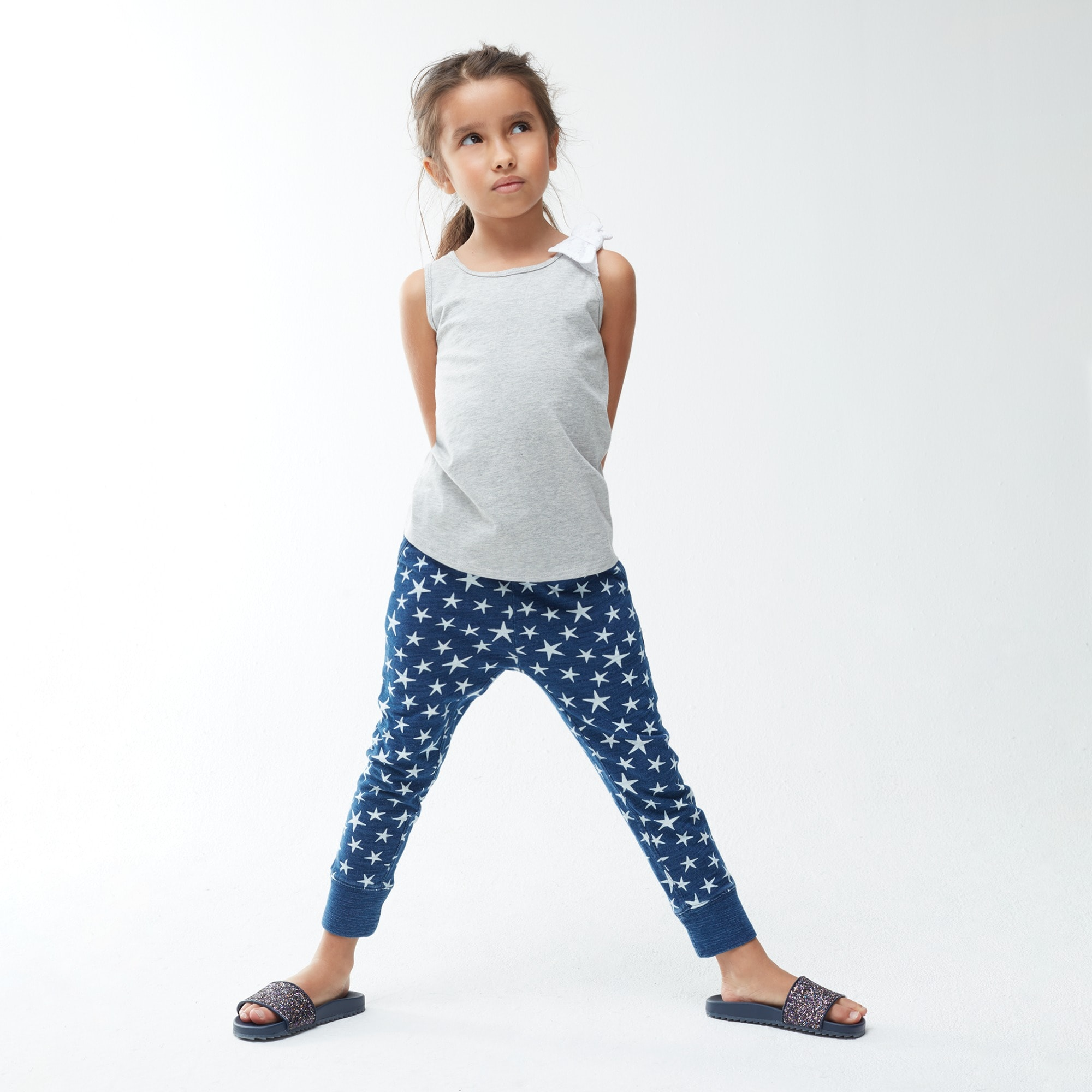 Girls' sweatpants in superstars girl new arrivals c