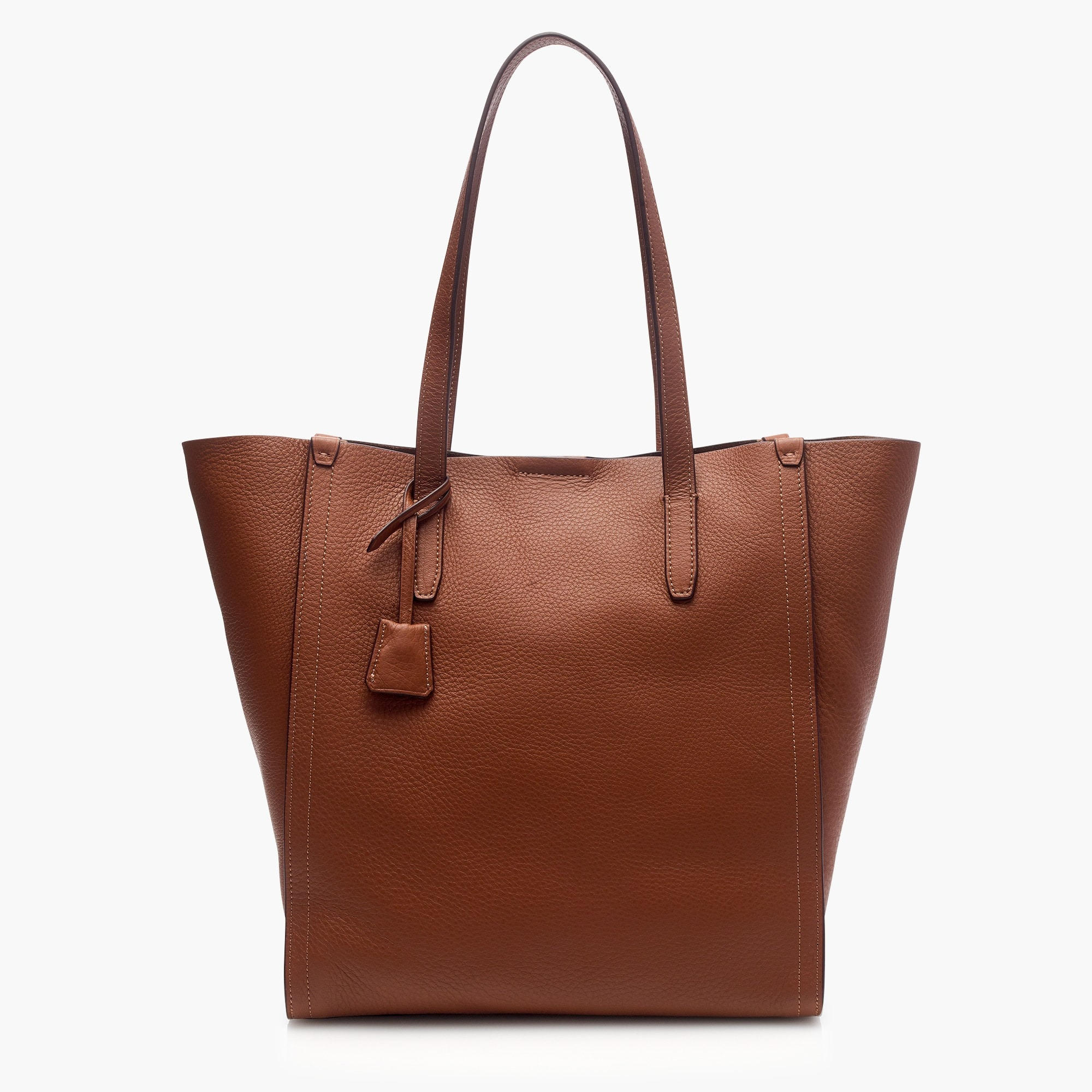Signet tote bag in Italian leather   search