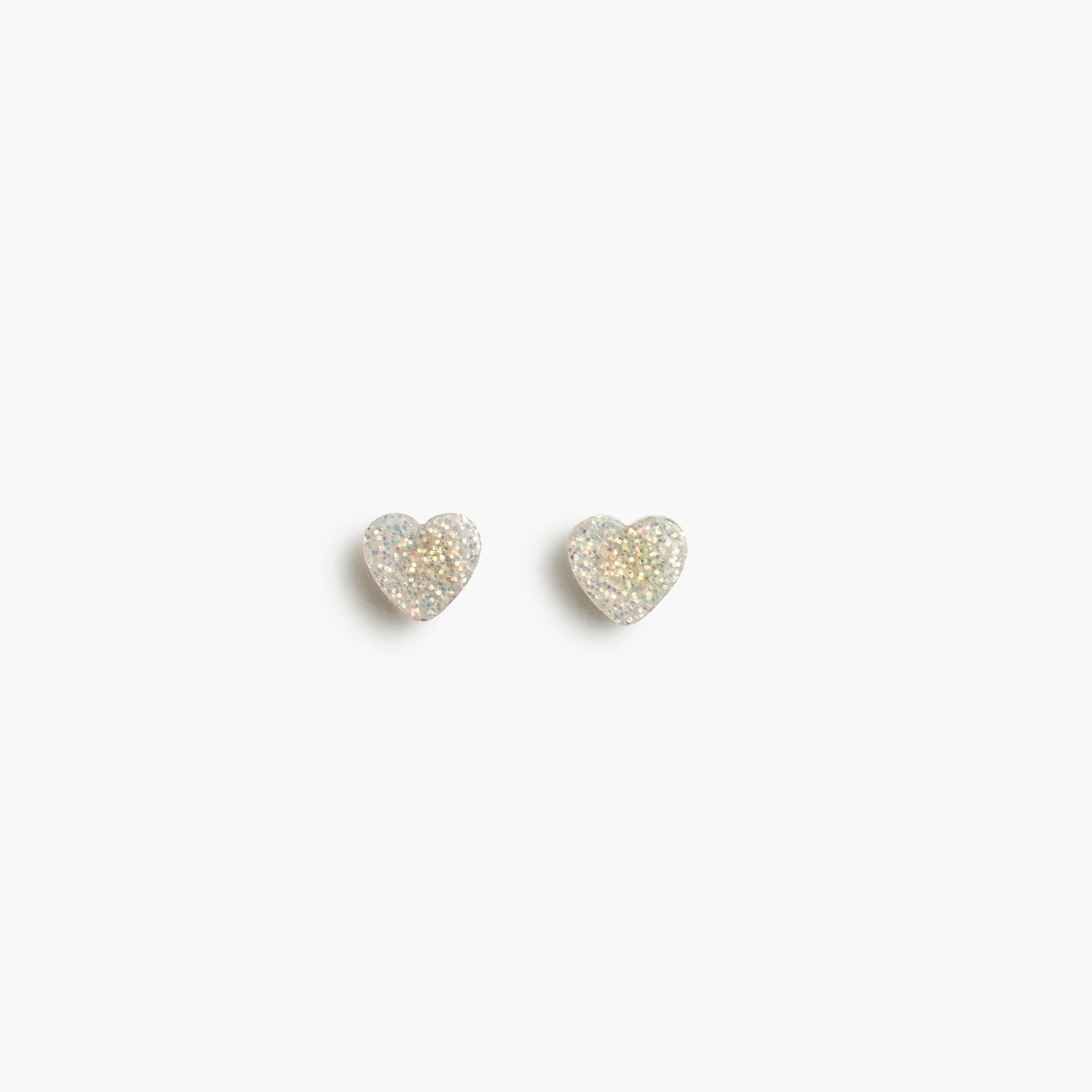Girls' heart stud earrings girl jewelry & accessories c