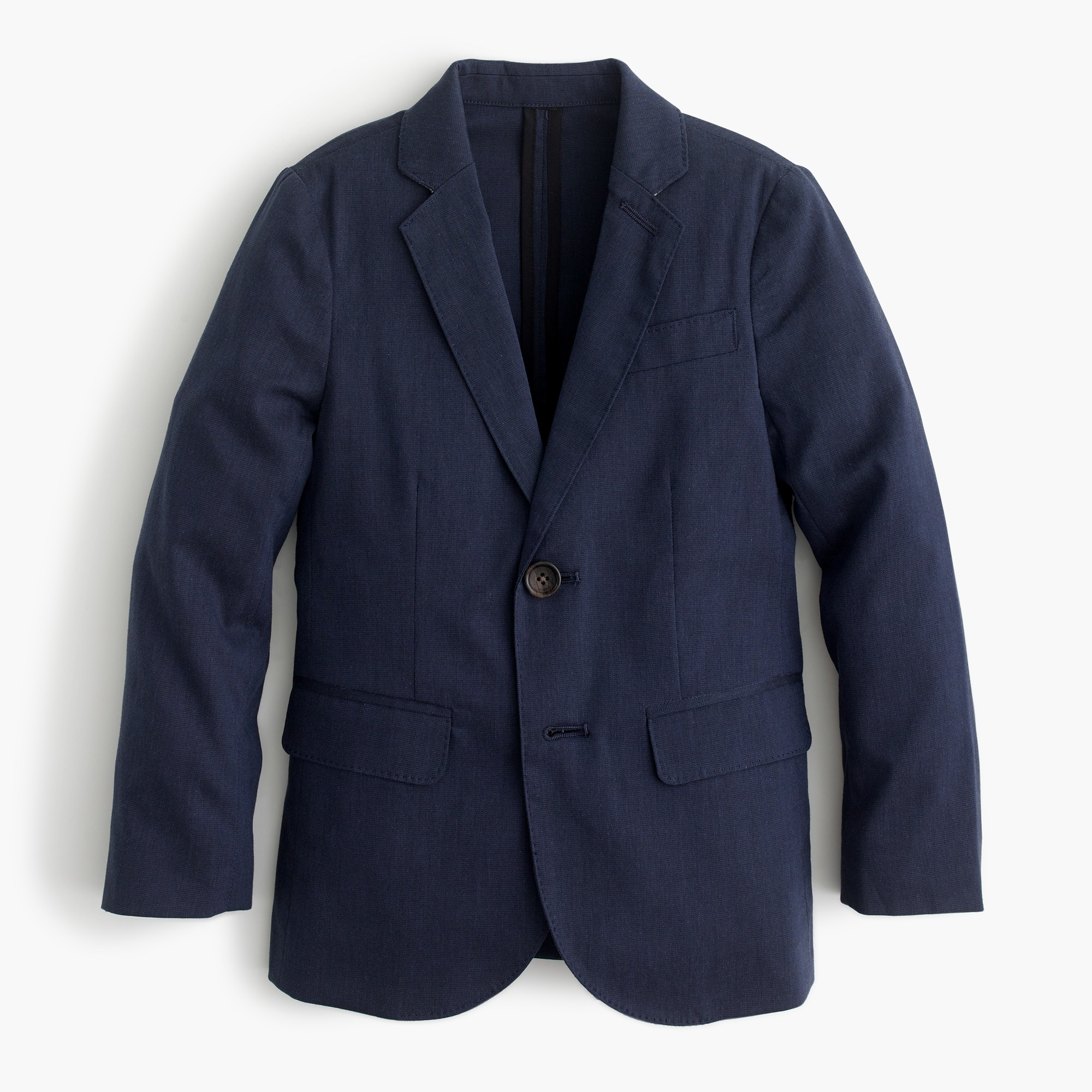 Boys' unstructured Ludlow suit jacket in stretch cotton