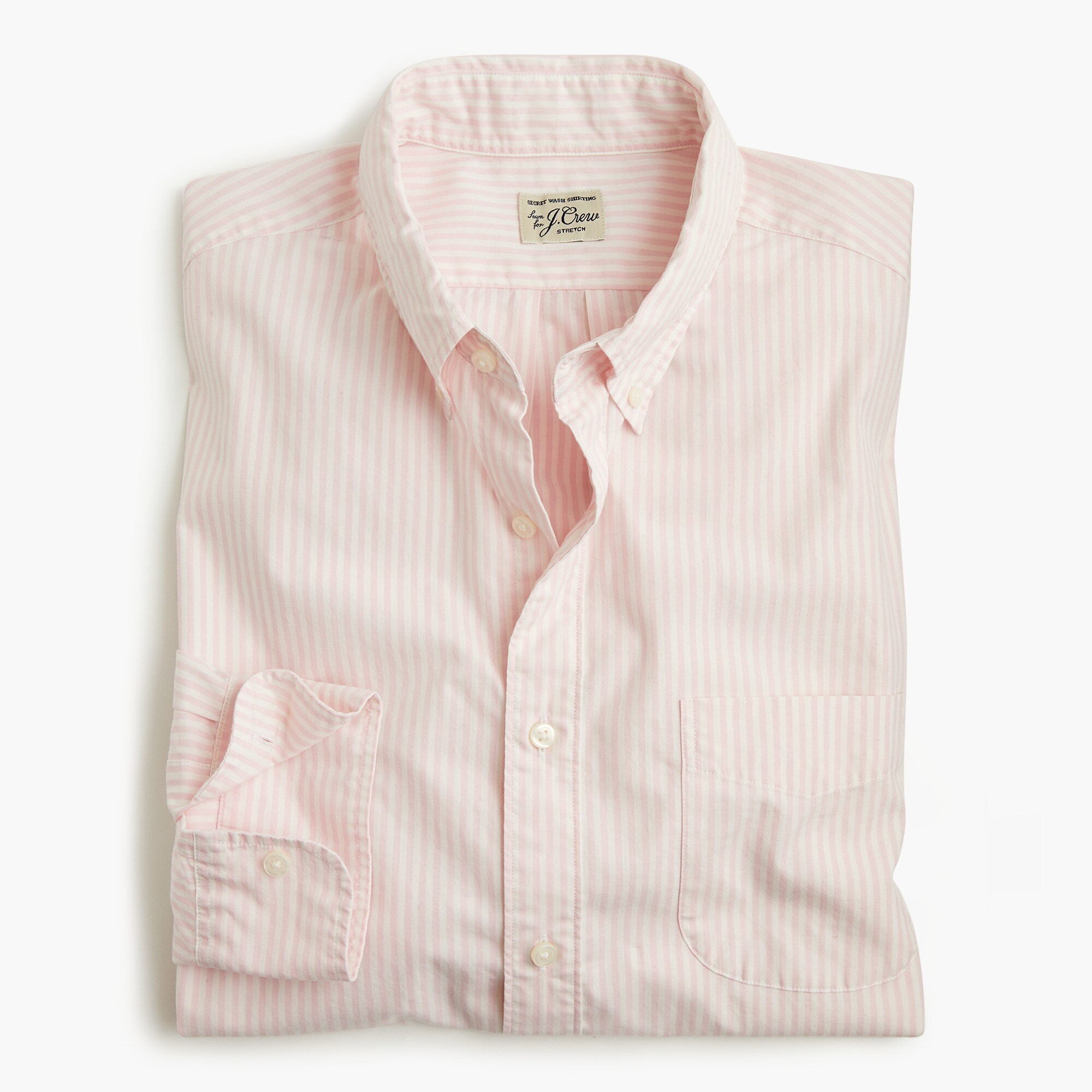Stretch Secret Wash shirt in poplin men new arrivals c