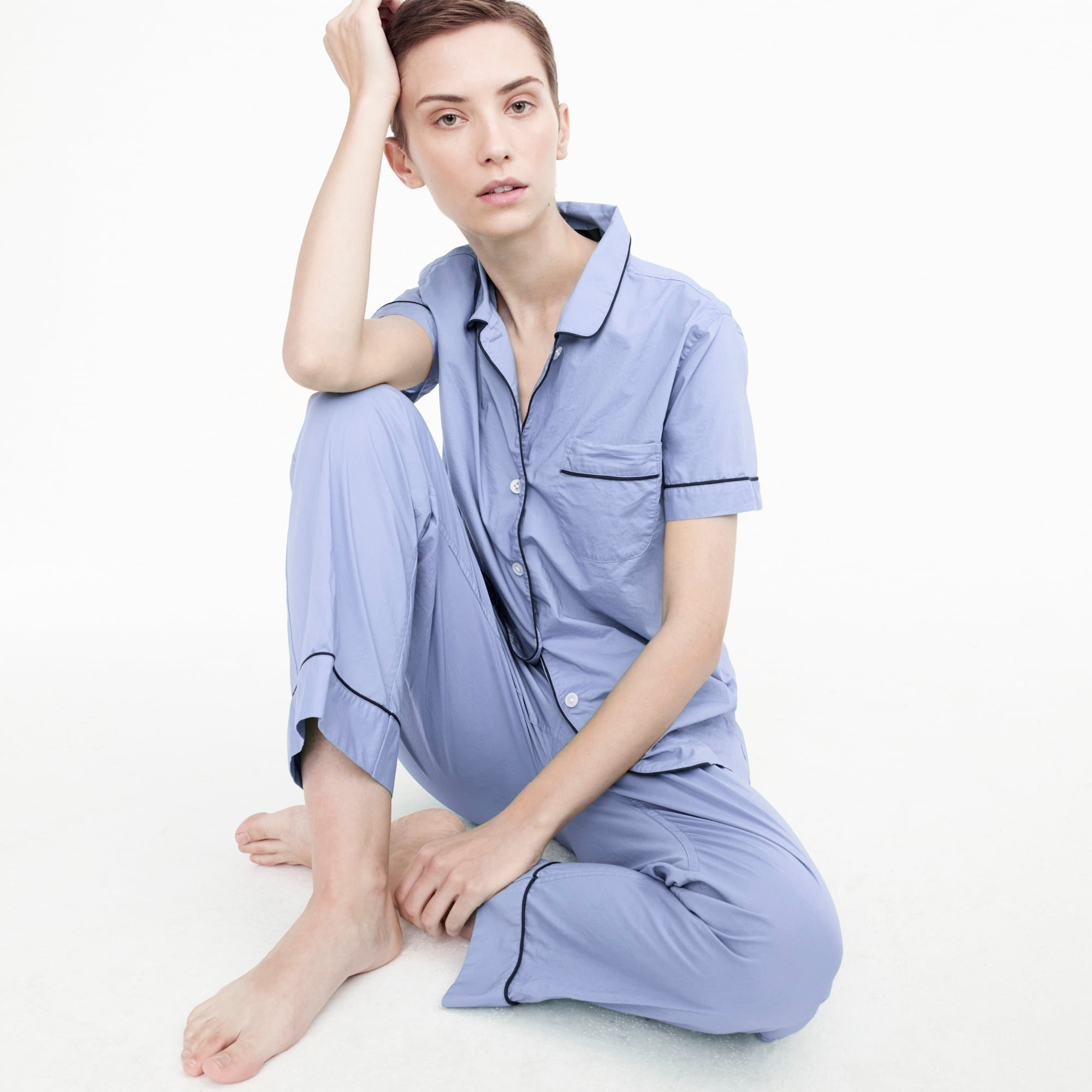 womens Vintage short-sleeve pajama set