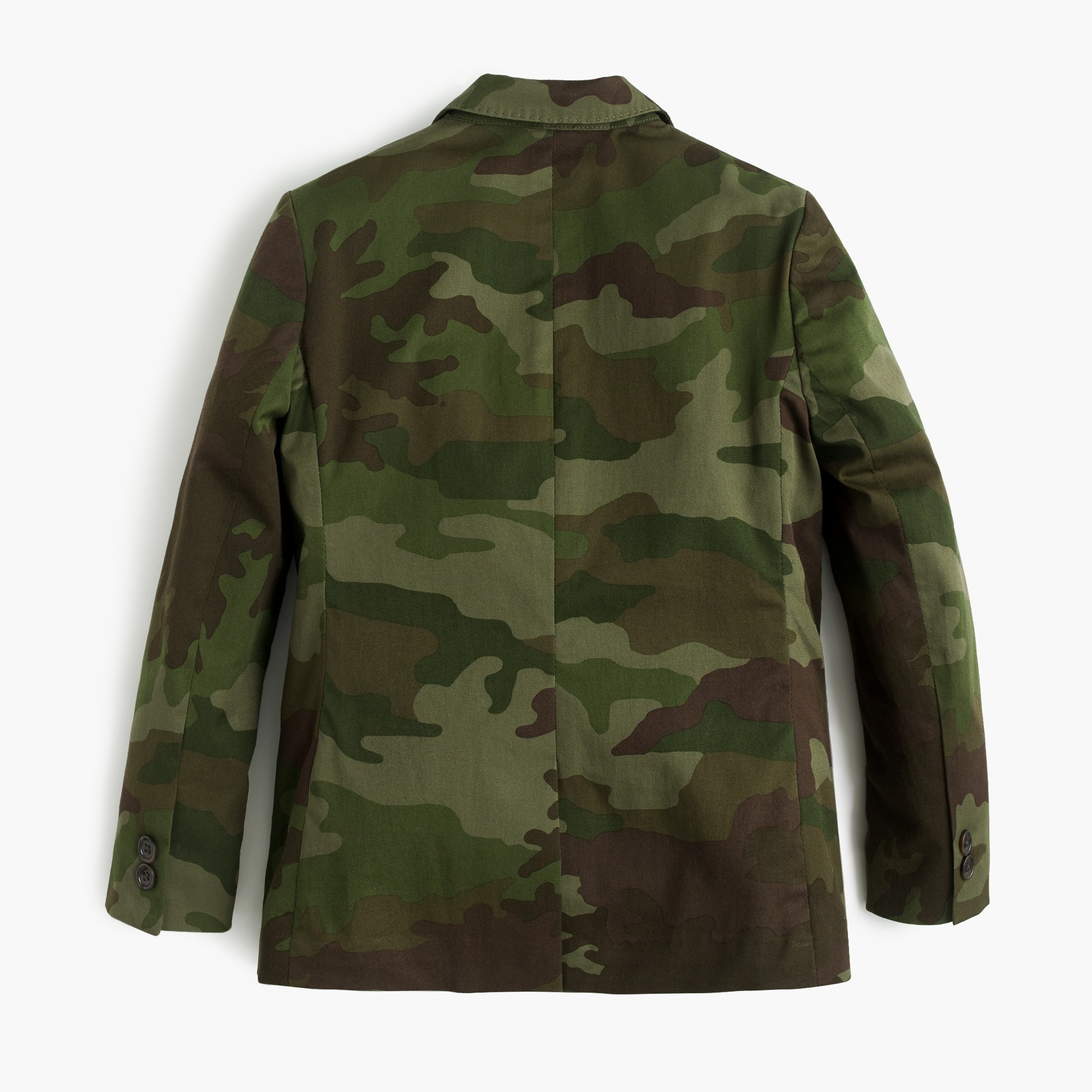 Boys' unstructured Ludlow jacket in camo