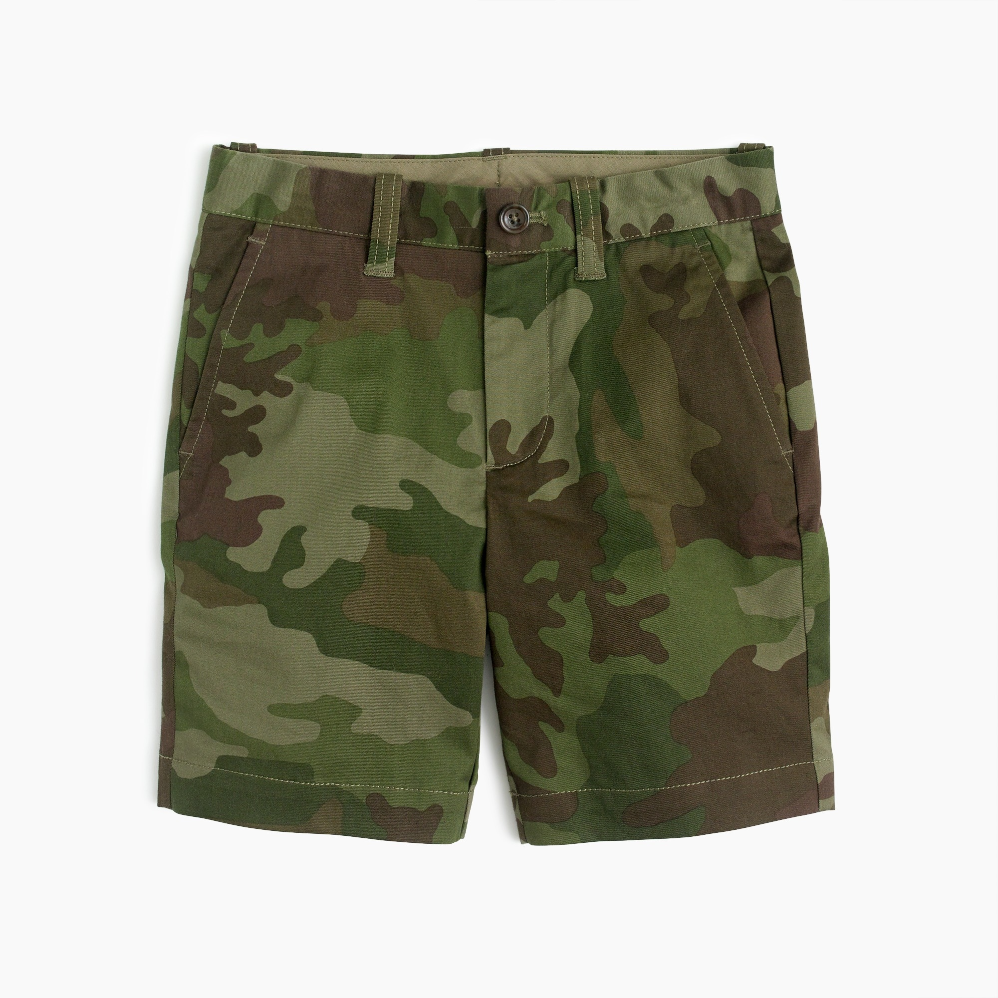 Boys' stretch Stanton short in camo