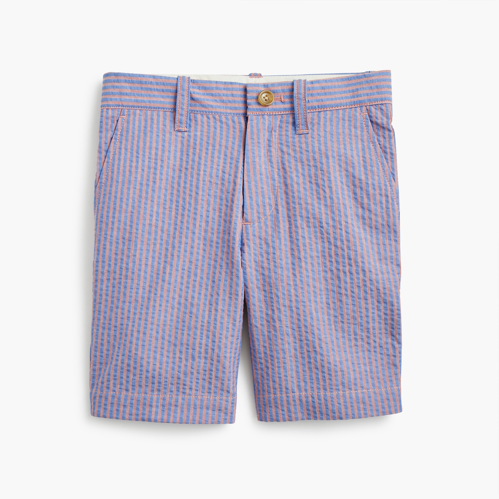Boys' Stanton short in seersucker