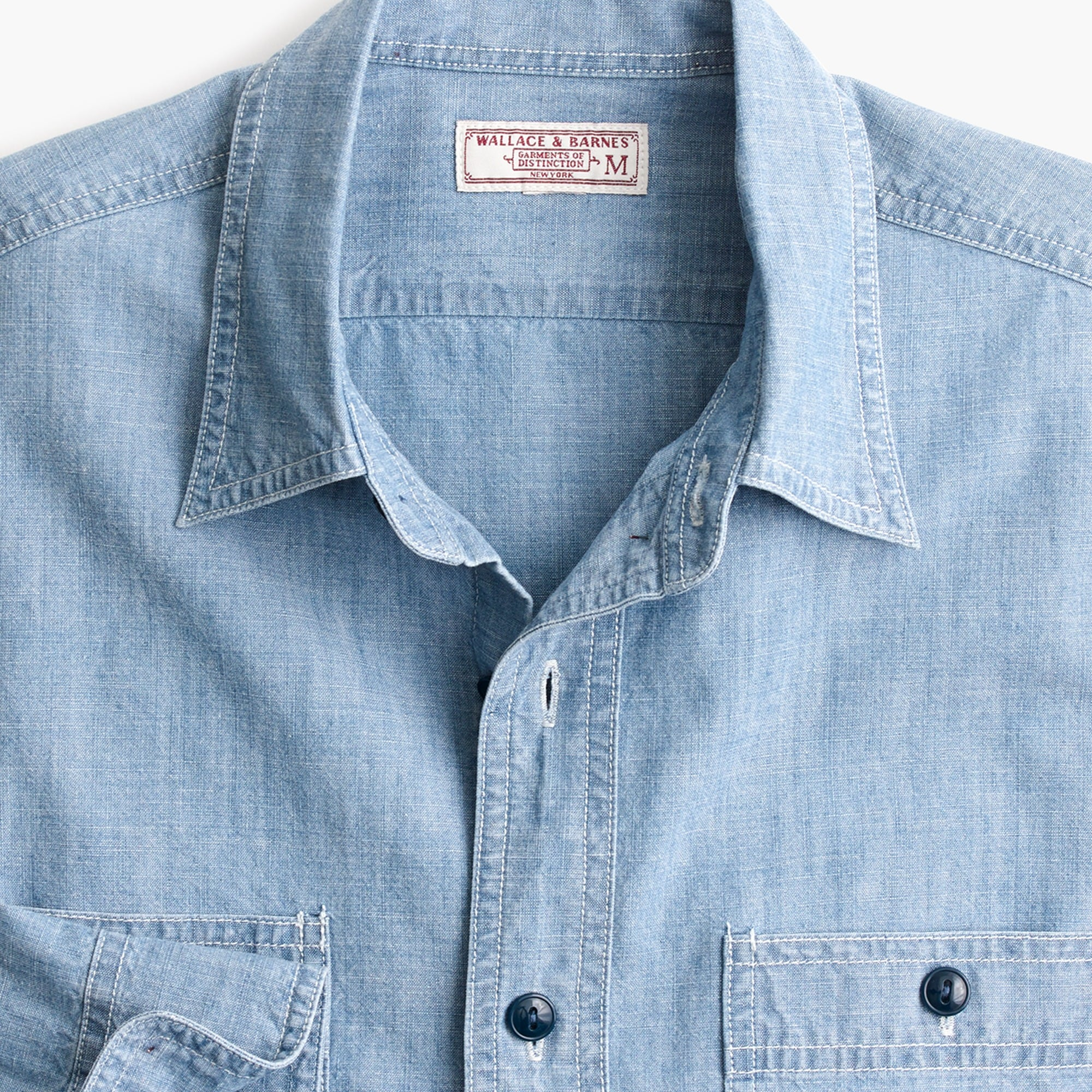 Wallace & Barnes chambray workshirt