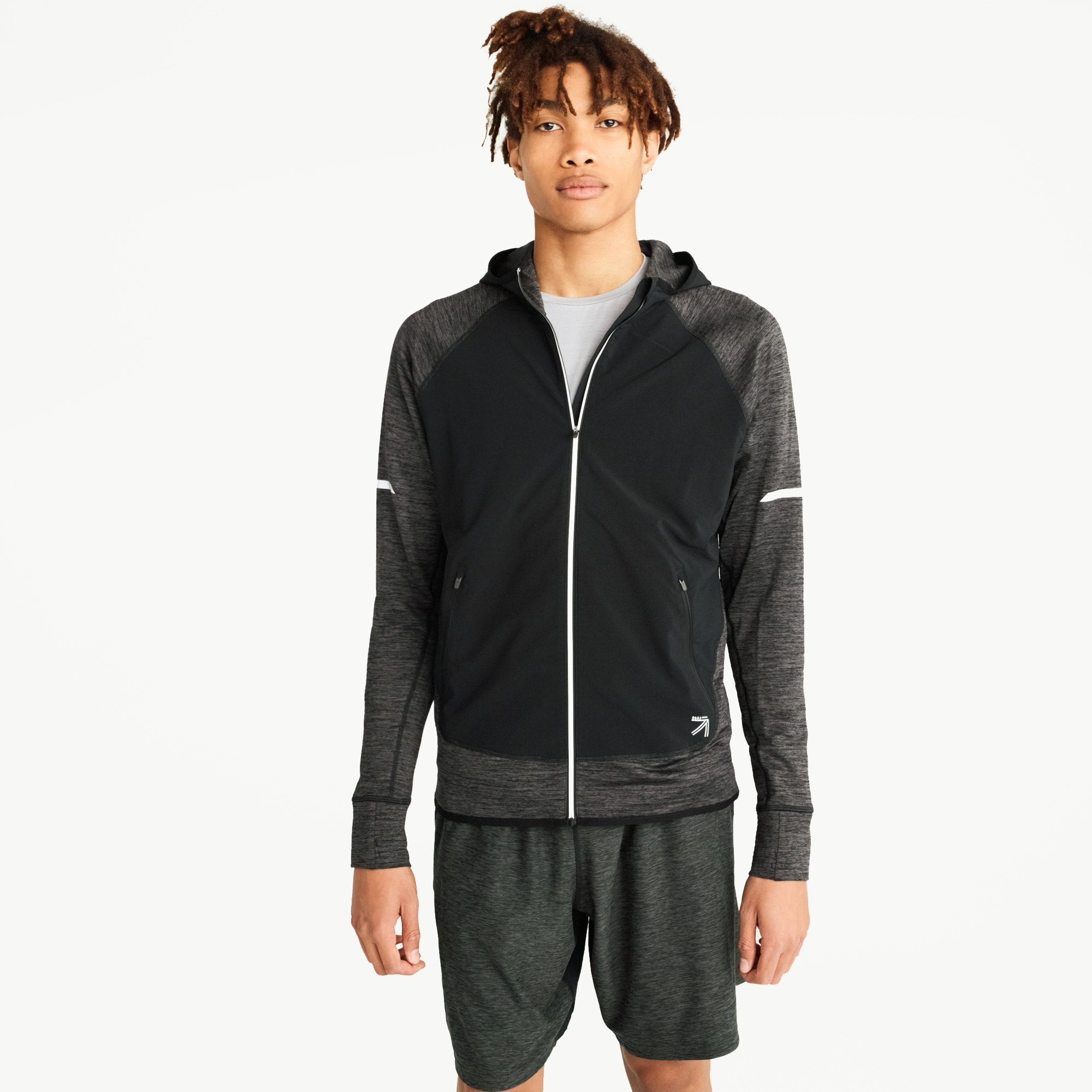 men's new balance® for j.crew heat run jacket - men's active knits