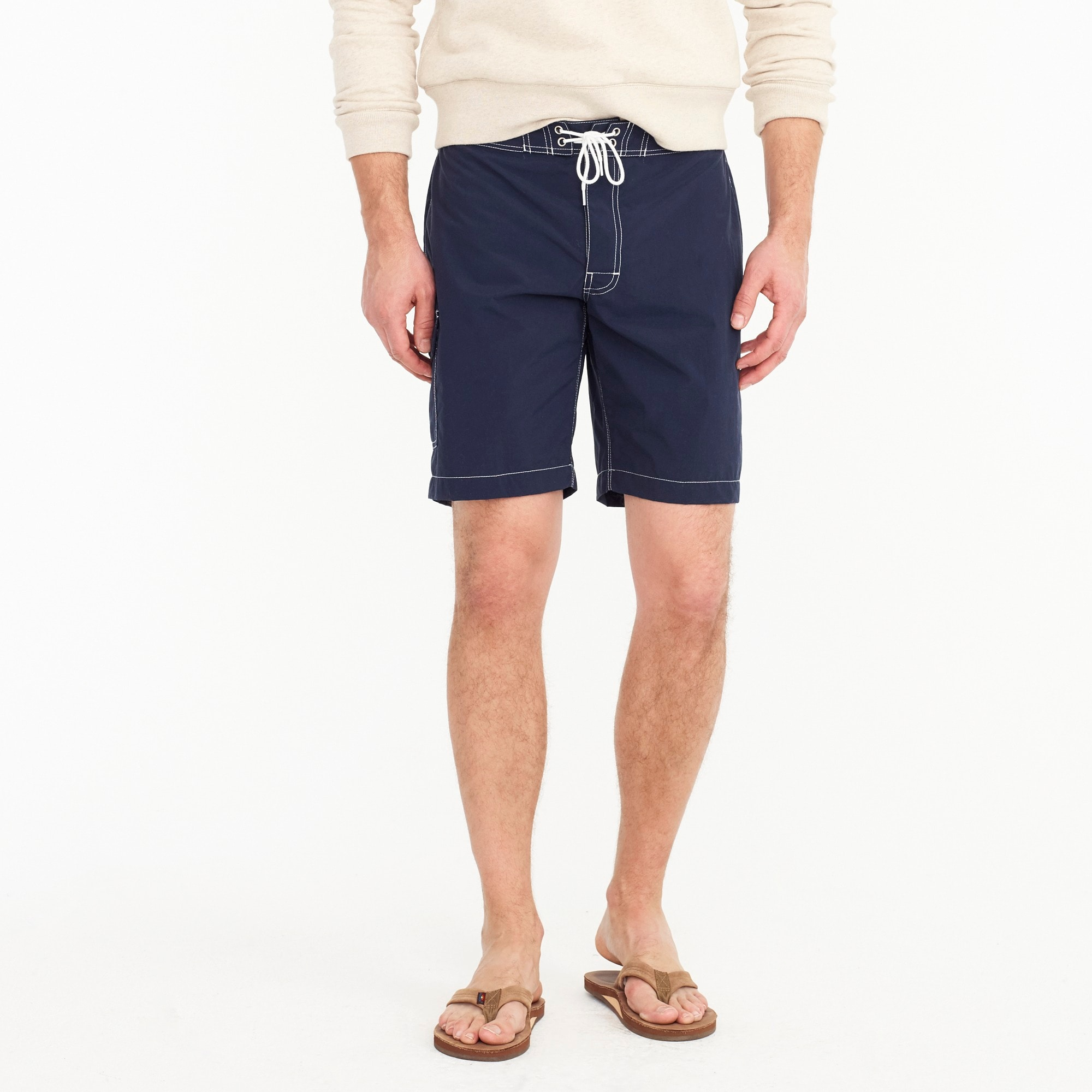 "9"" board short in navy men swim c"