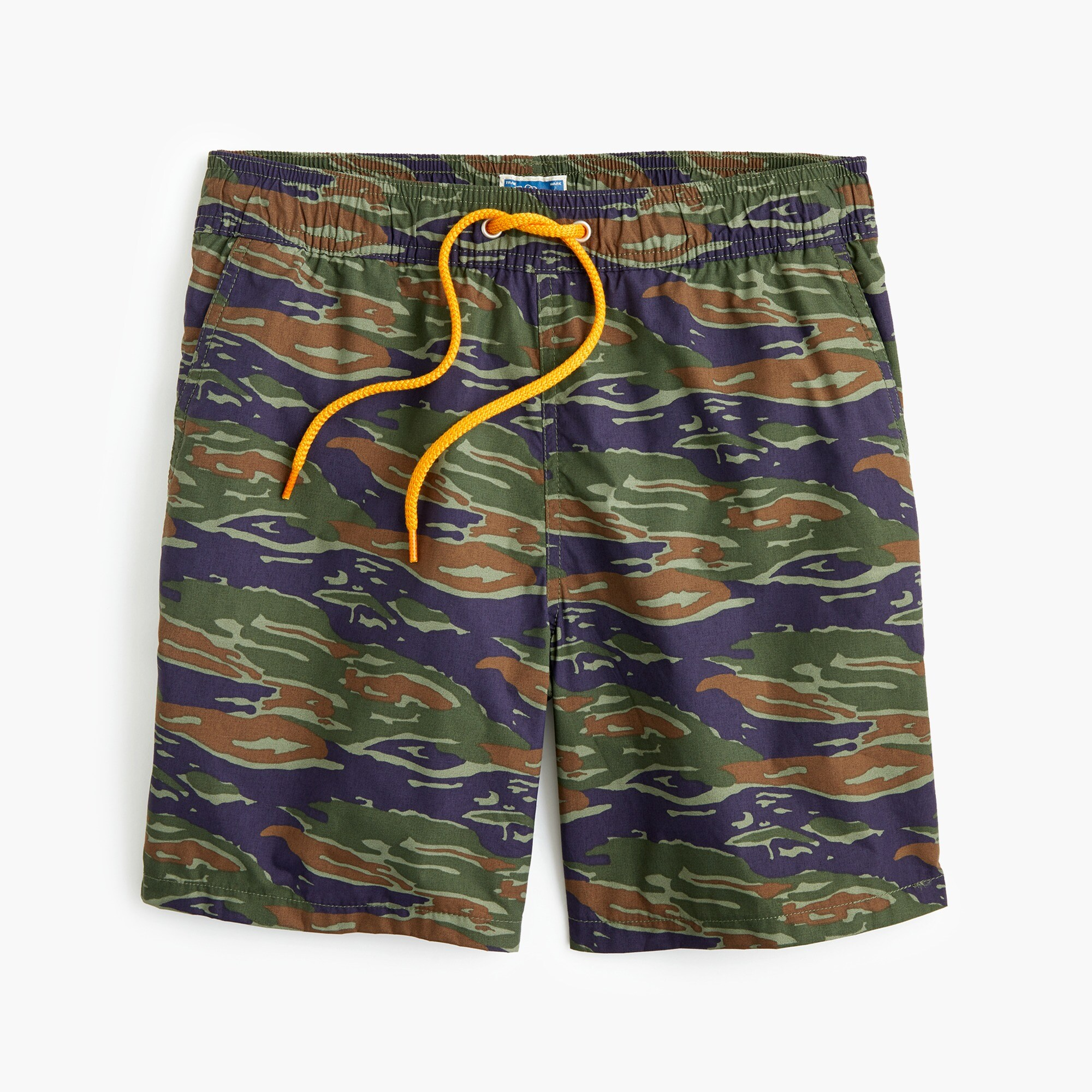 "6"" swim trunk in camo print men swim c"