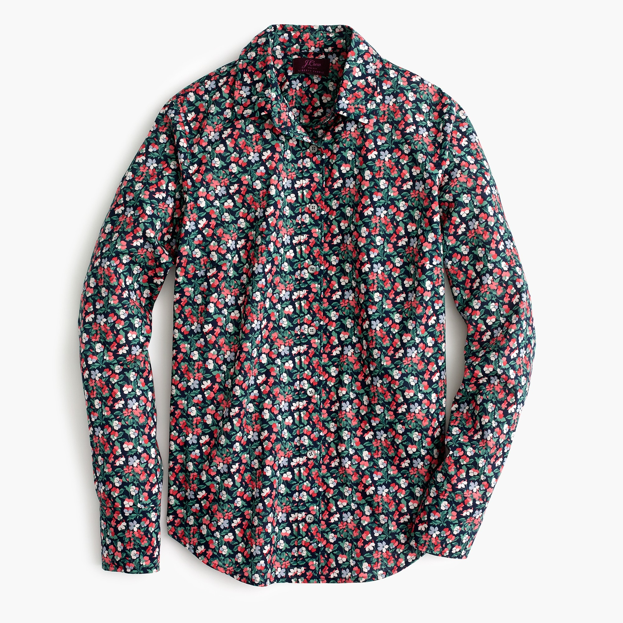Slim perfect shirt in Liberty® Sarah floral