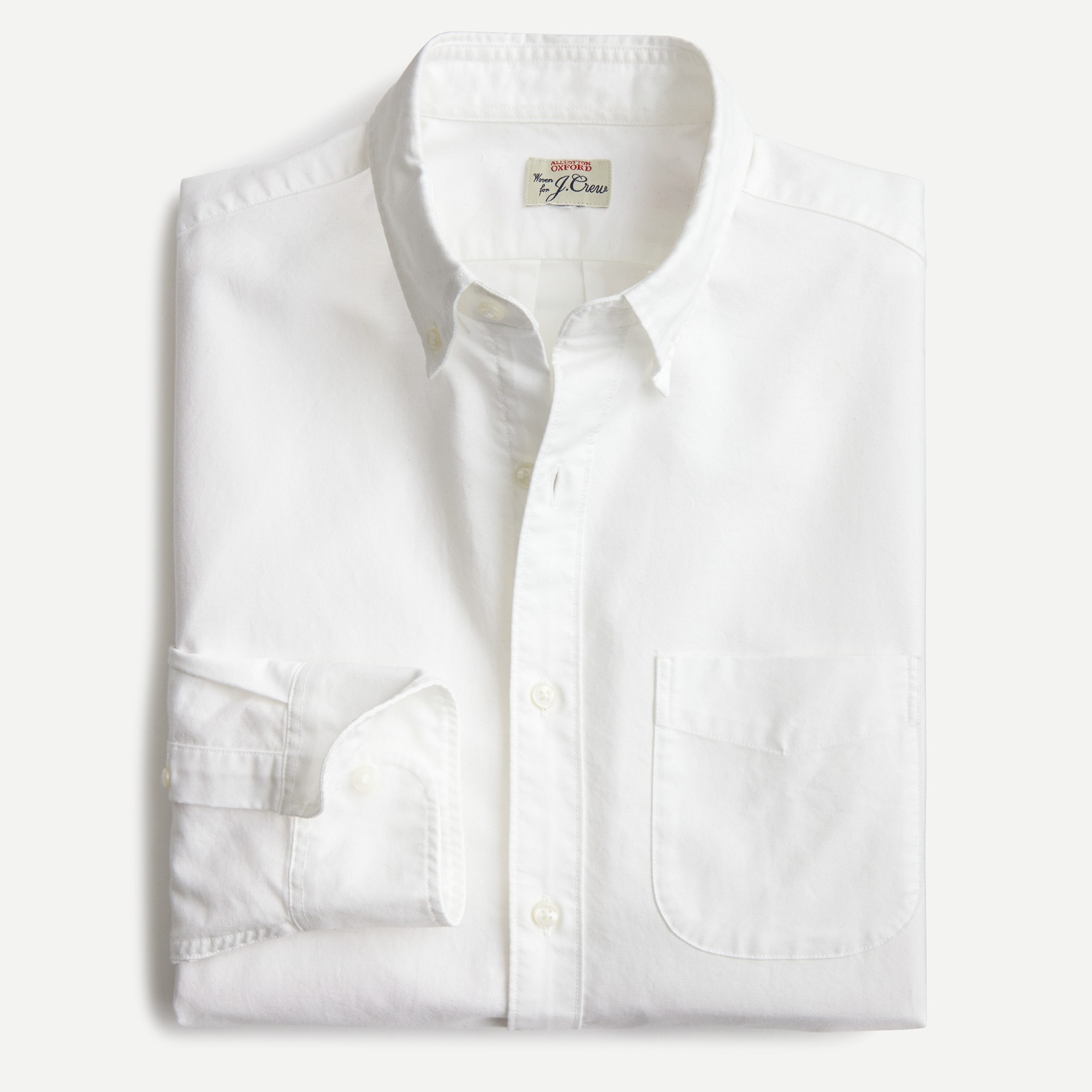 Image 2 for Tall American Pima cotton oxford shirt with mechanical stretch