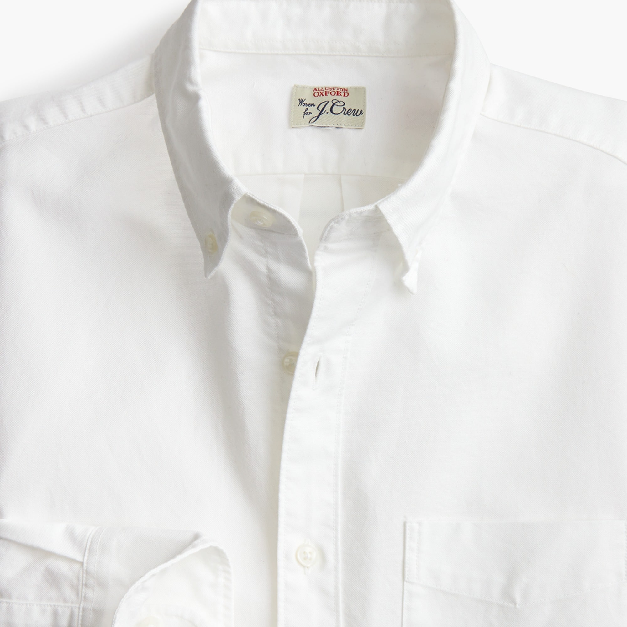 Image 2 for American Pima cotton oxford shirt with mechanical stretch