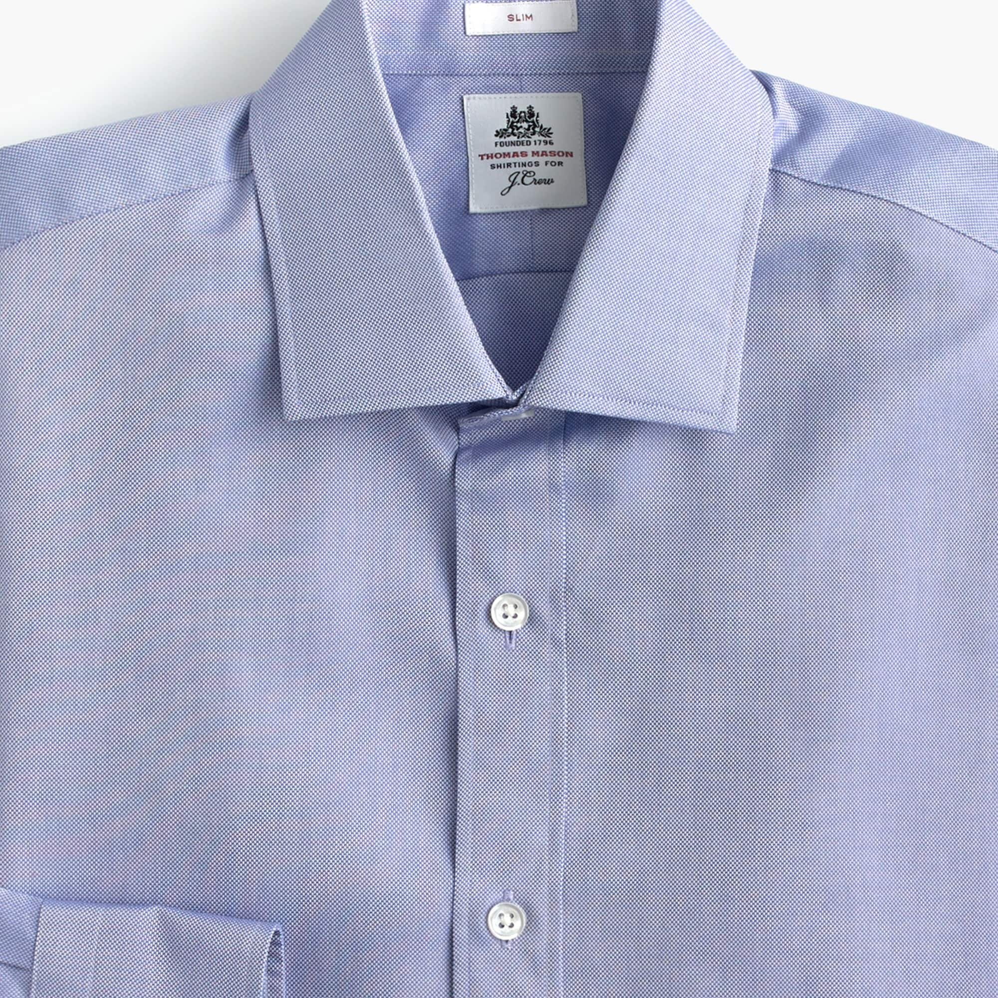 Thomas Mason® for J.Crew two-ply dress shirt in royal oxford cotton