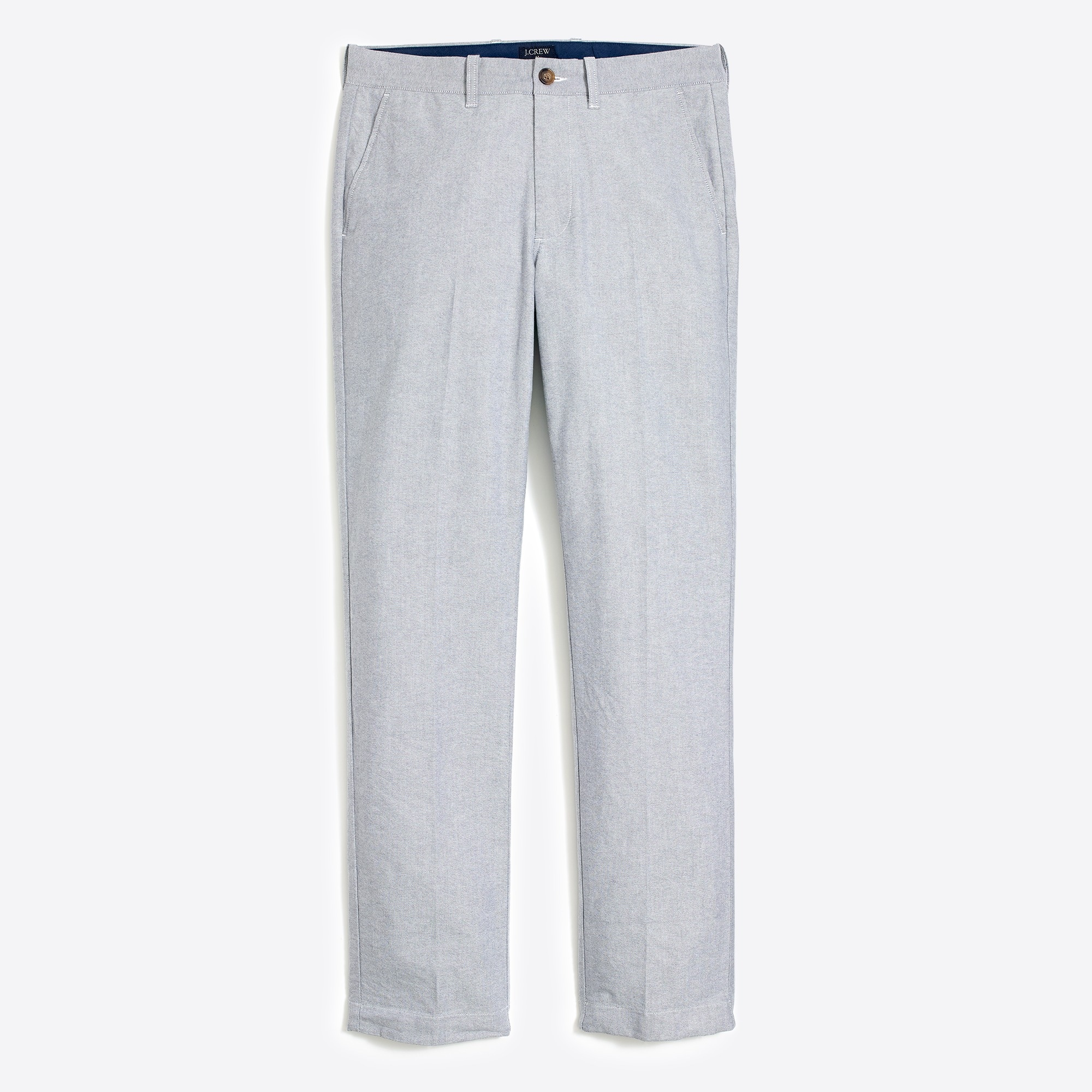 J.Crew Mercantile Sutton straight-fit pant in Oxford cloth men pants c