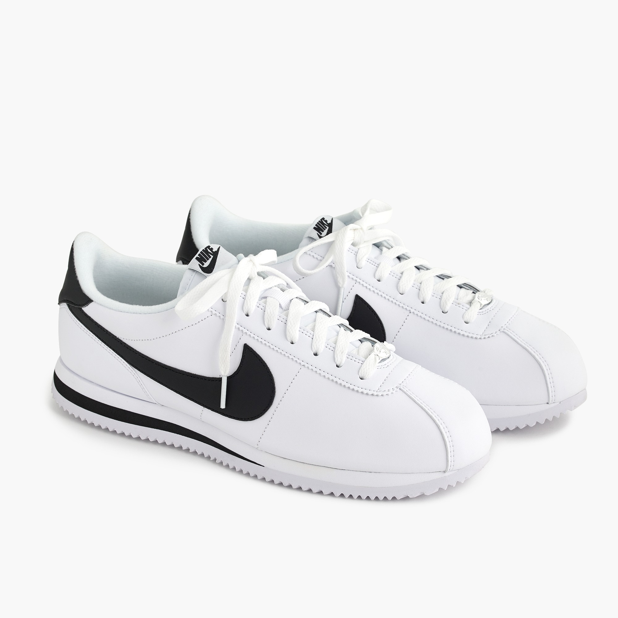 mens Nike® Cortez sneakers in leather