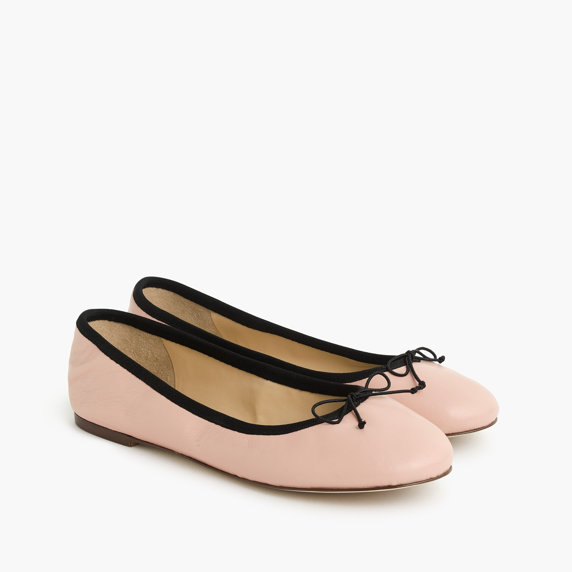 Evie ballet flats in leather women shoes c