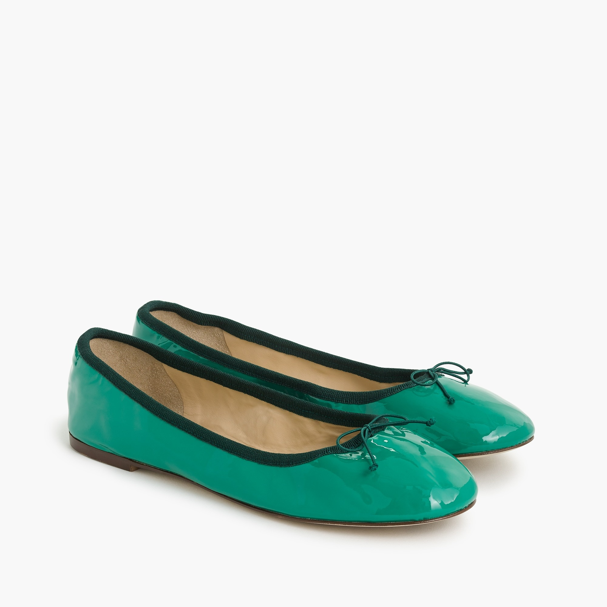 Evie ballet flats in patent leather women shoes c