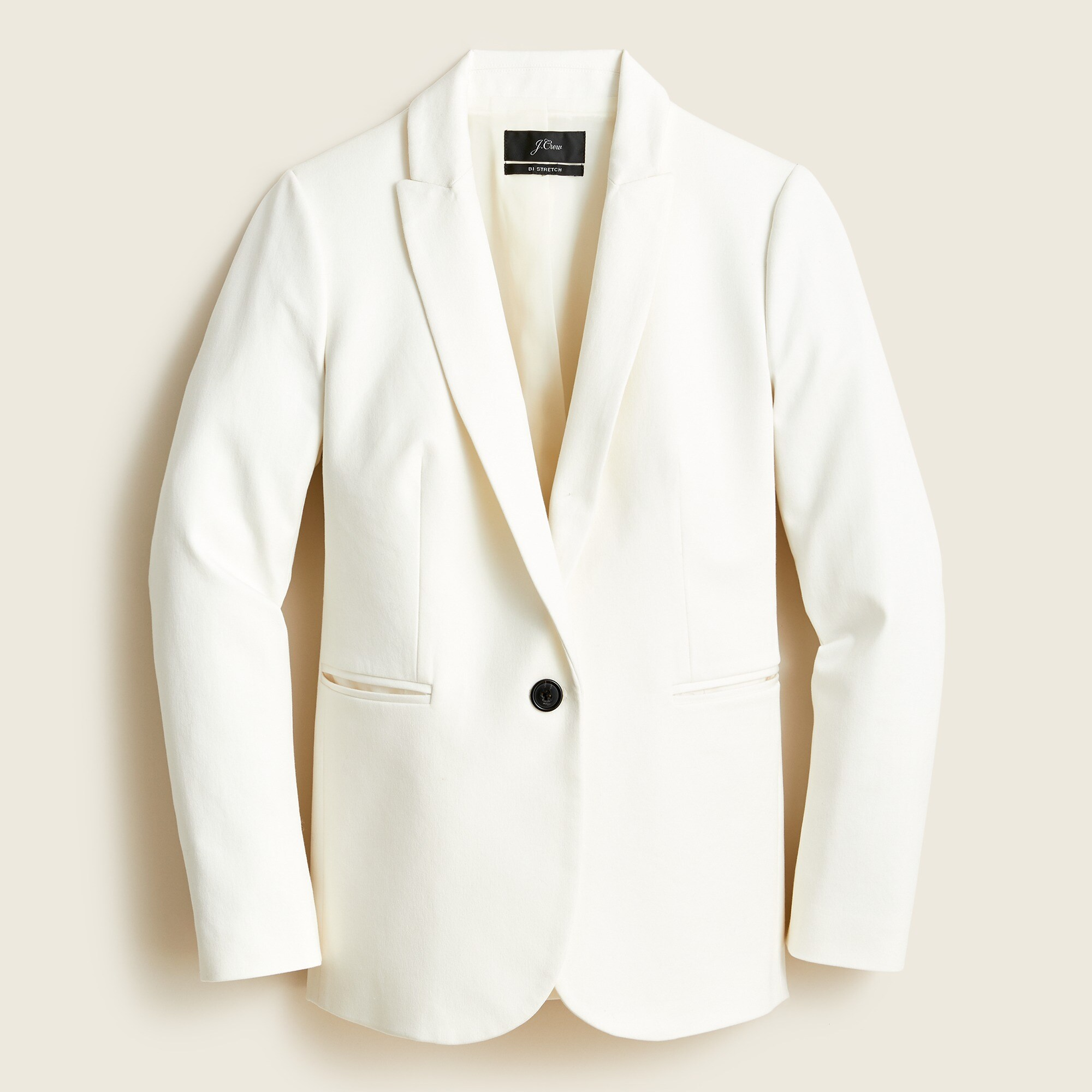 women's tall parke blazer in stretch cotton - women's suit separates