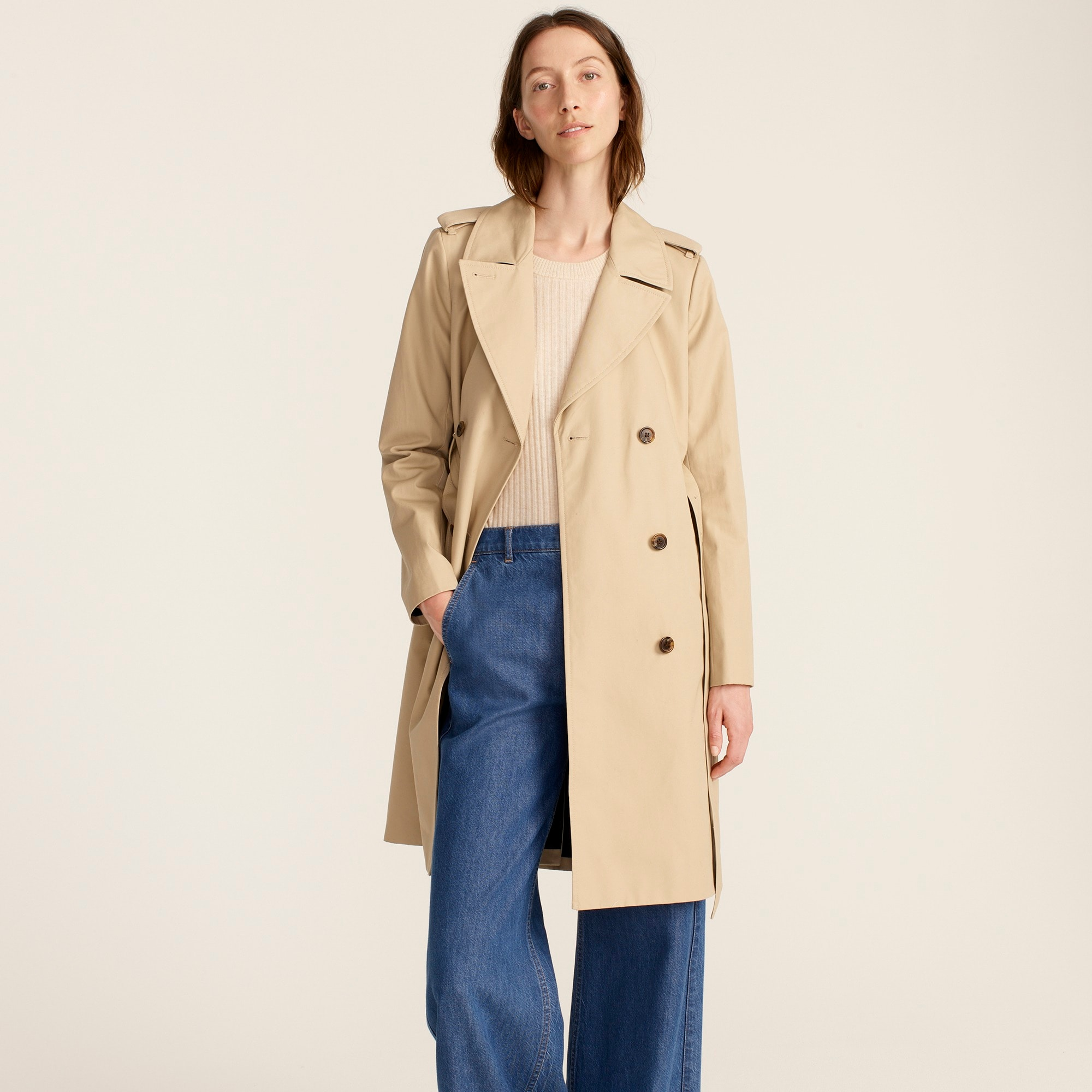 Petite women's 2011 Icon trench