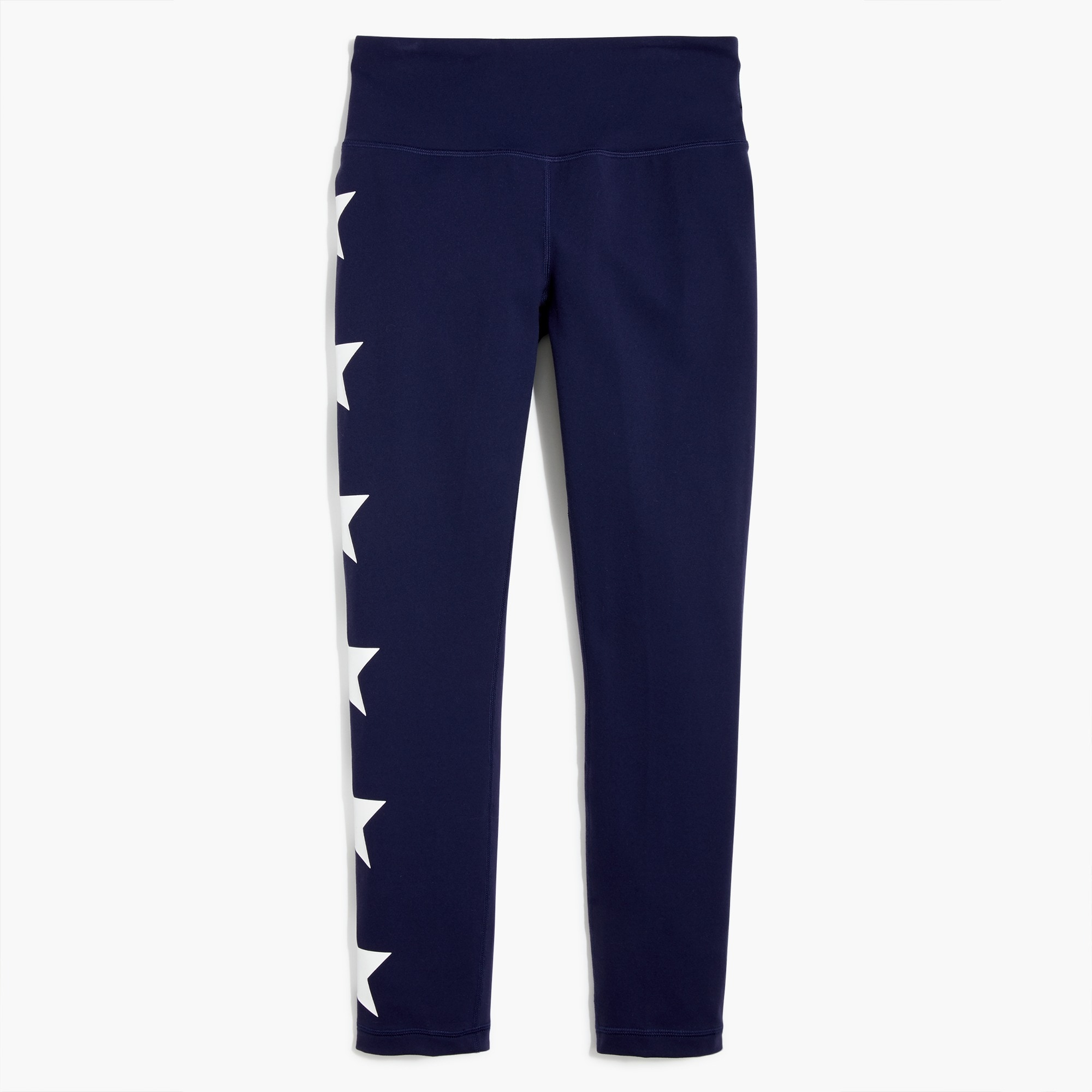 New Balance® for J.Crew performance seamless cropped leggings in stars