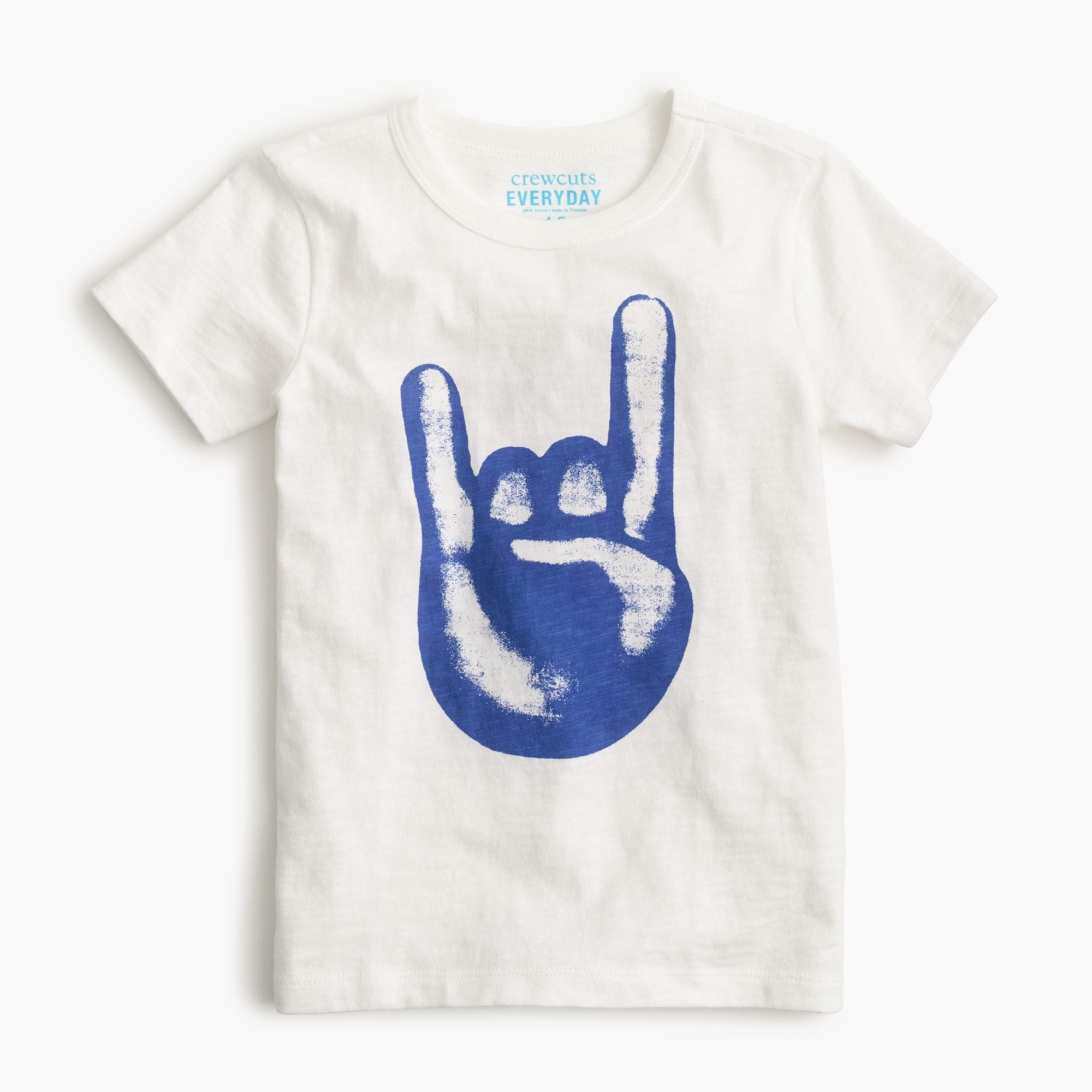 "Boys' ""rock on"" T-shirt boy t-shirts & polos c"