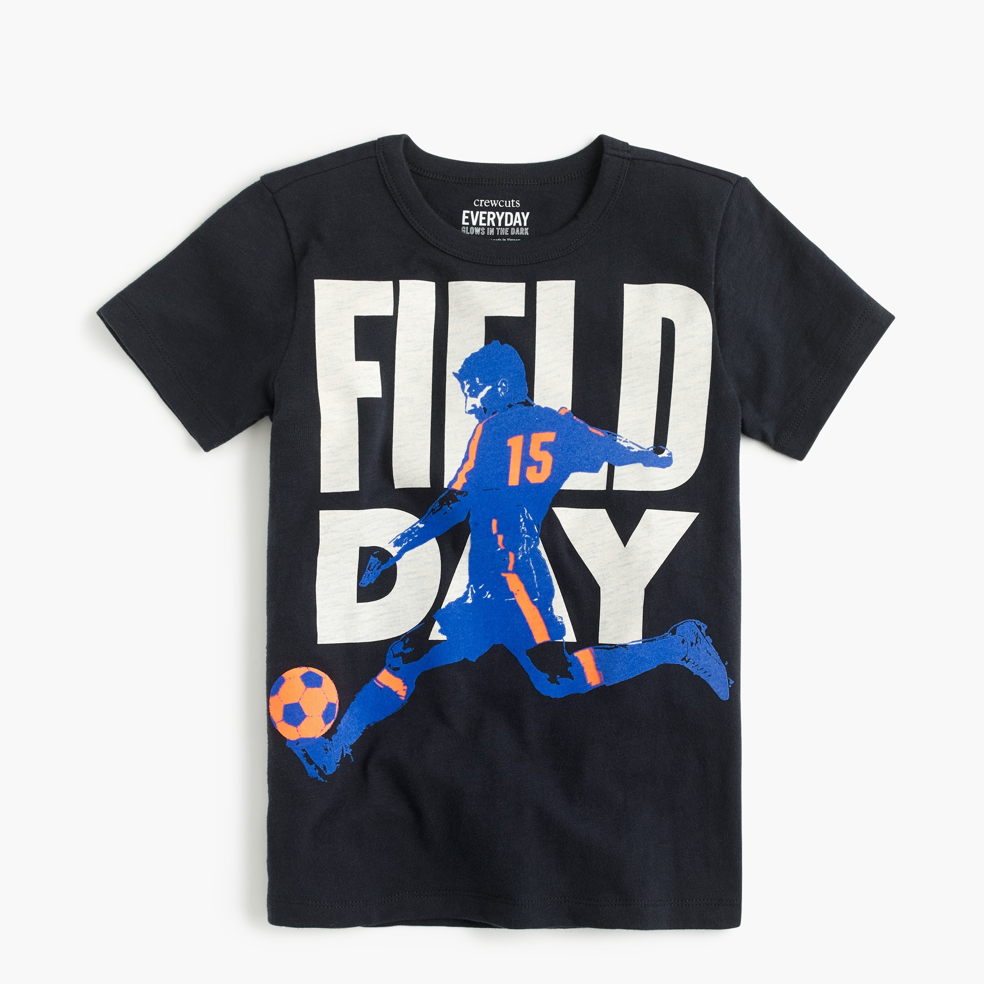 "Boys' ""field day"" T-shirt boy new arrivals c"