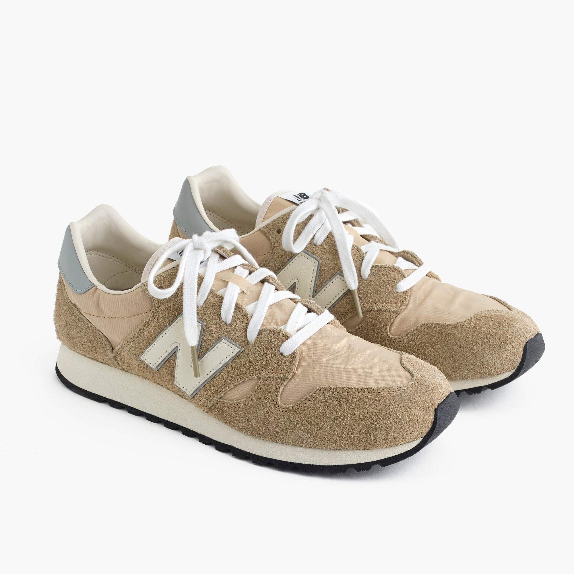 men's new balance® for j.crew 520 sneakers in hairy suede - men's footwear