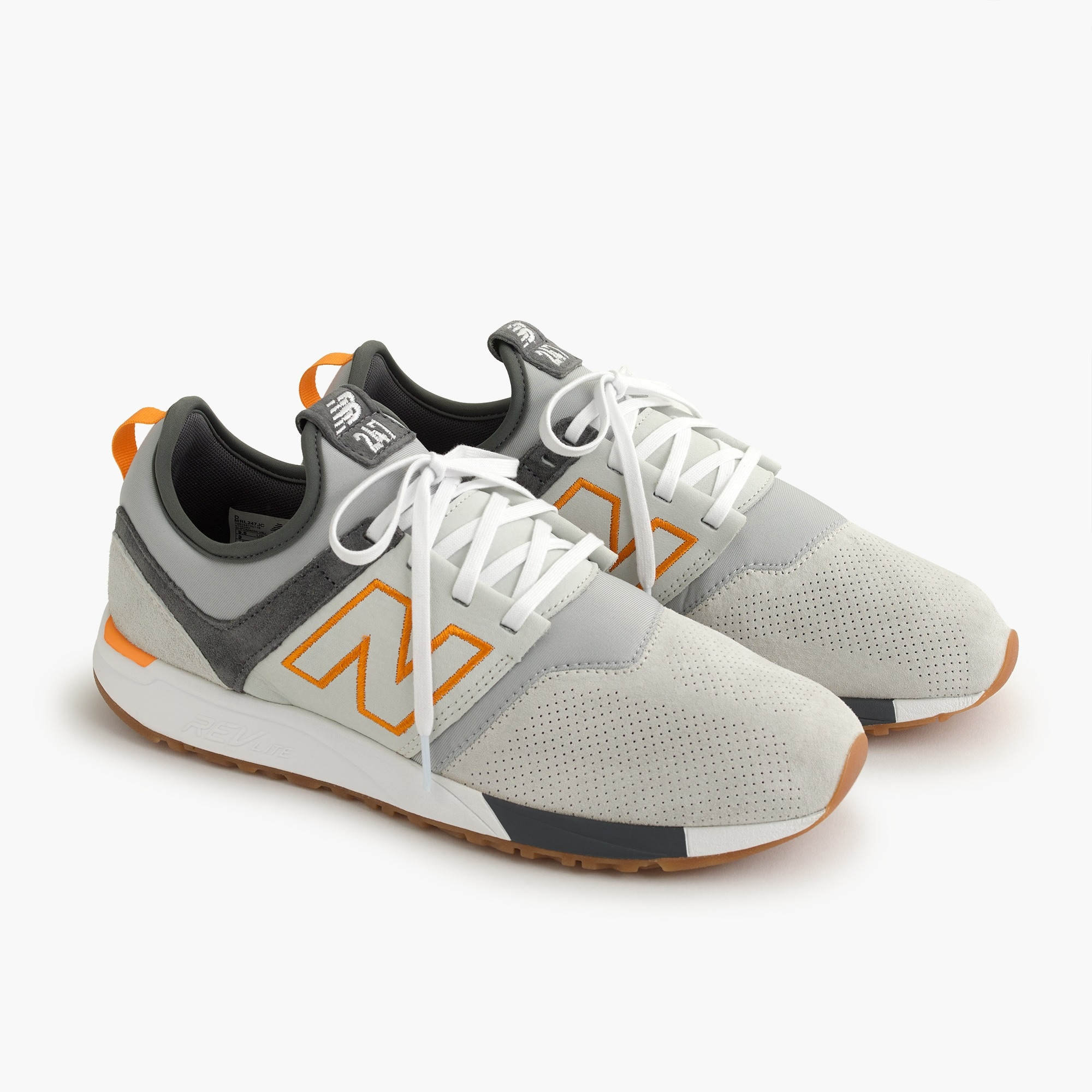 Image 4 for New Balance® for J.Crew 247 Luxe sneakers in suede