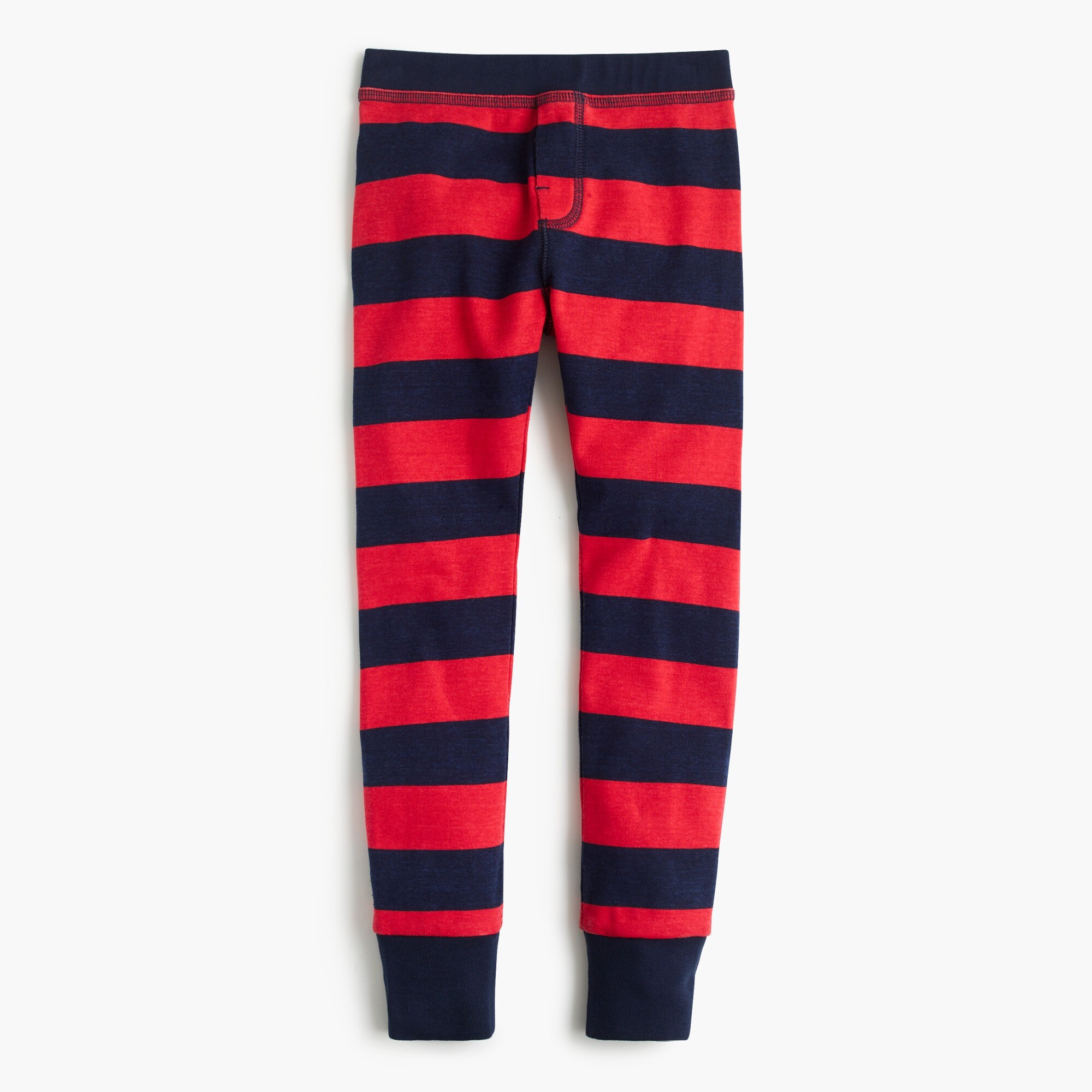 Image 3 for Kids' pajama set in red stripes