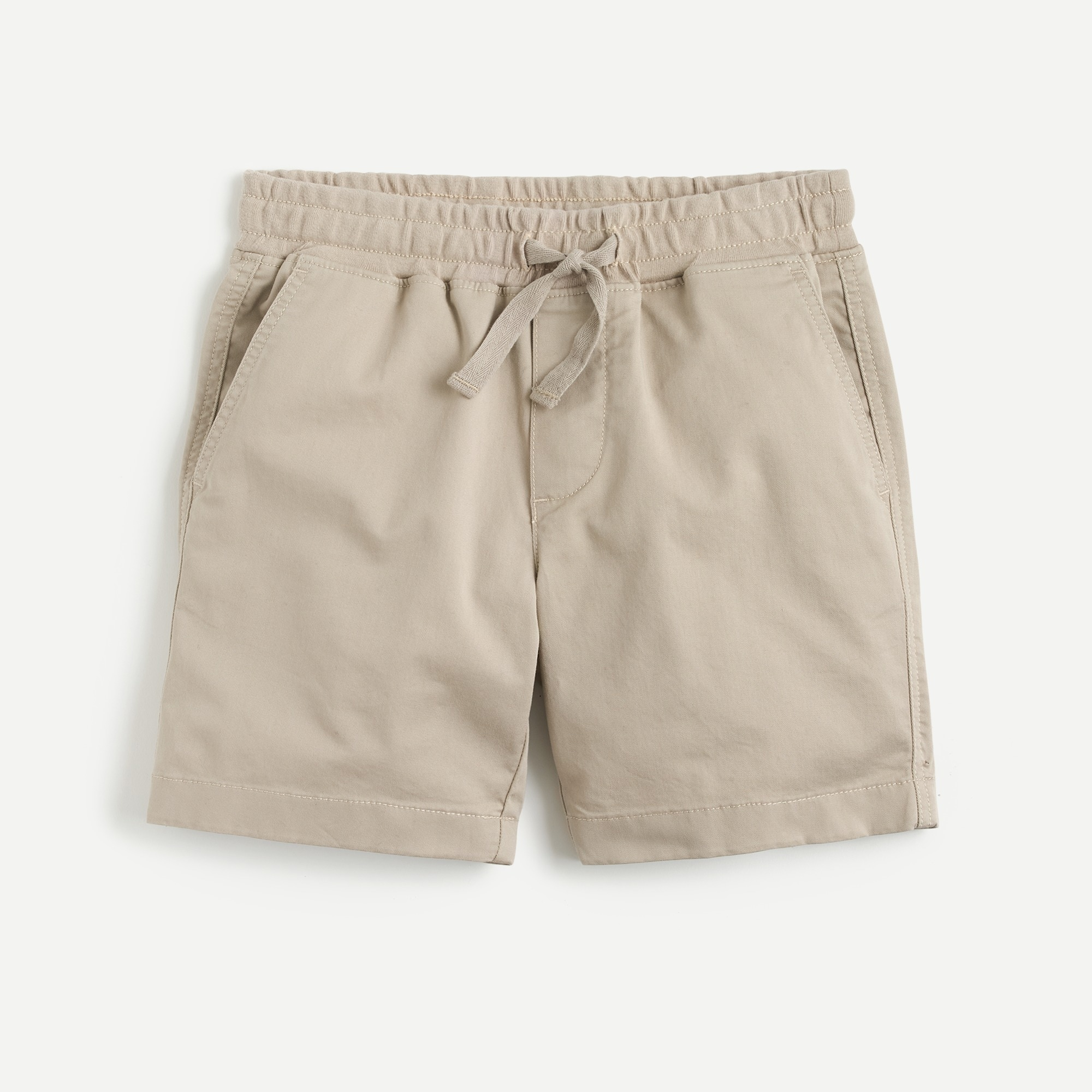 Boys' stretch pull-on short in lightweight cotton boy shorts c