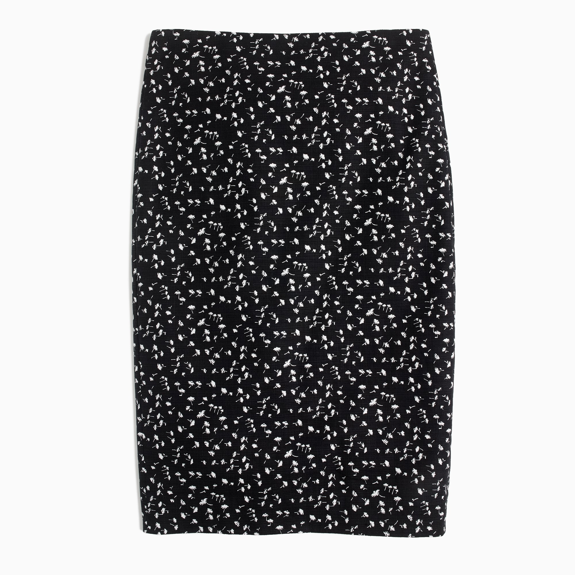 women's pencil skirt in daisy floral - women's skirts
